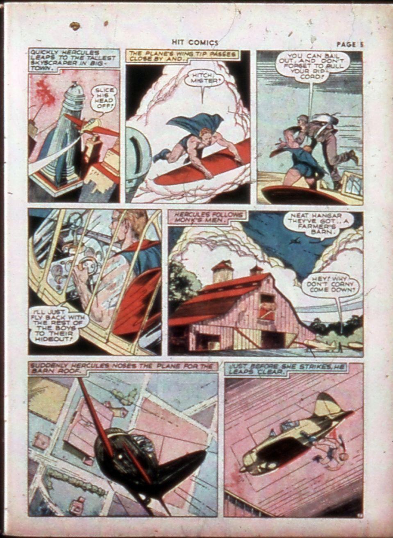 Read online Hit Comics comic -  Issue #14 - 7