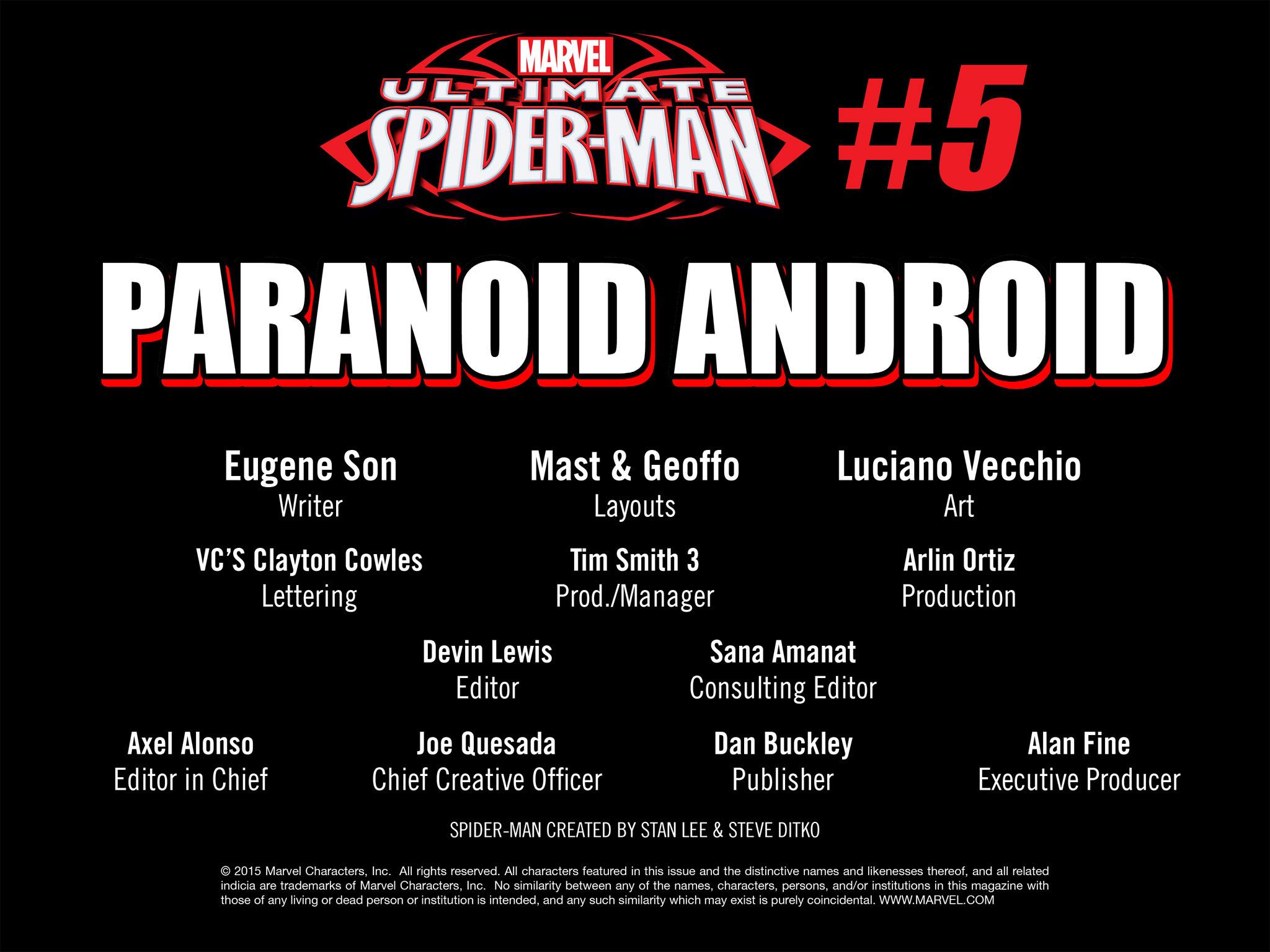 Read online Ultimate Spider-Man (Infinite Comics) (2015) comic -  Issue #5 - 46
