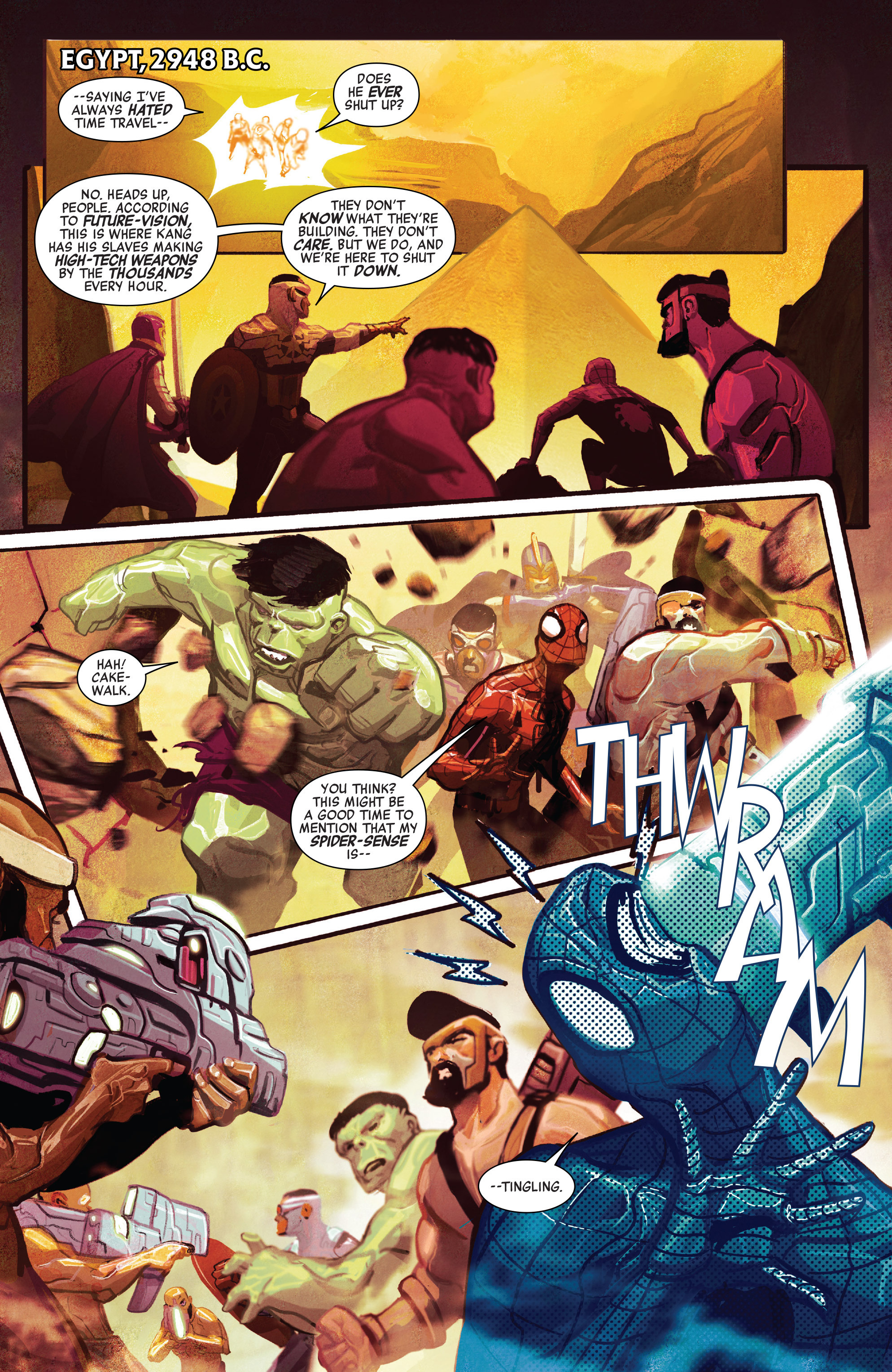 Read online Avengers (2016) comic -  Issue #5 - 12