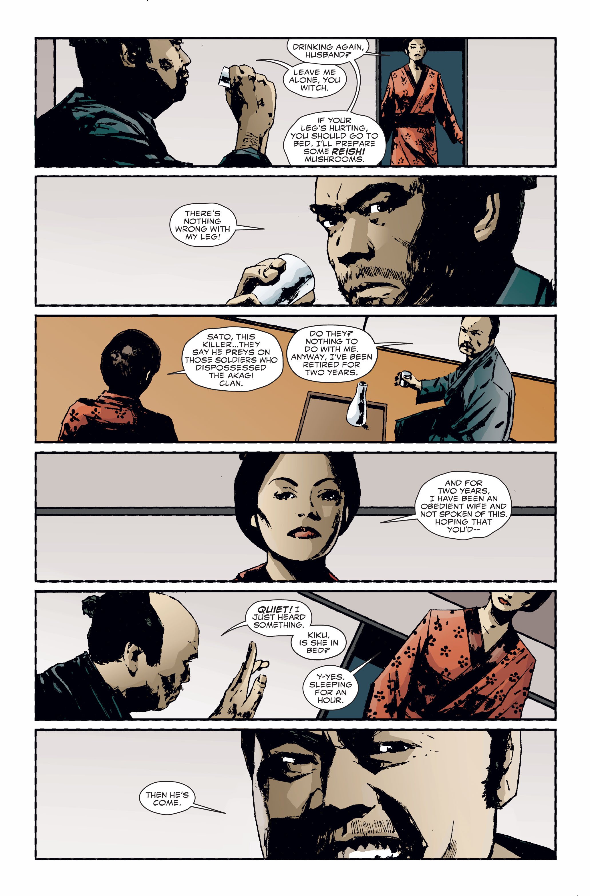 Read online 5 Ronin (2011) comic -  Issue #3 - 15