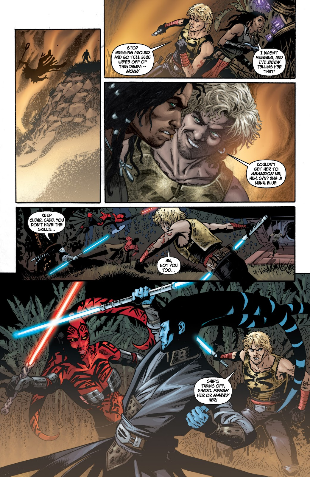 Read online Star Wars Legends: Legacy - Epic Collection comic -  Issue # TPB 1 (Part 2) - 37