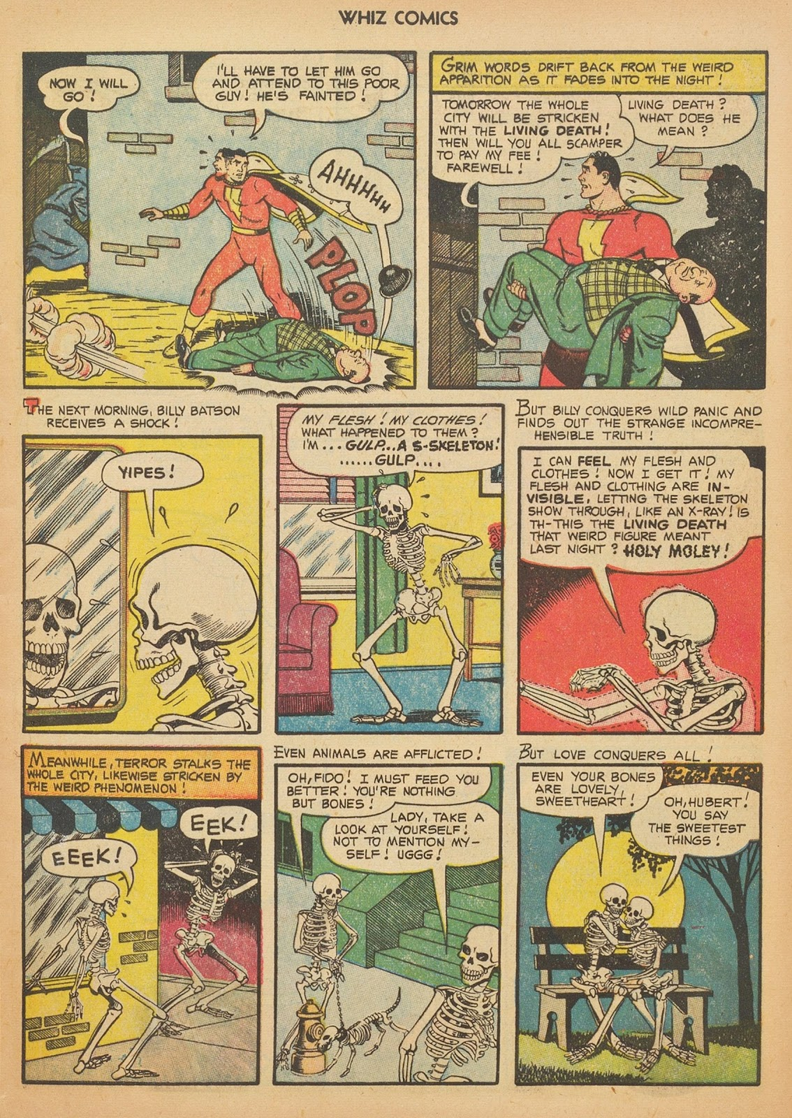Read online WHIZ Comics comic -  Issue #153 - 5