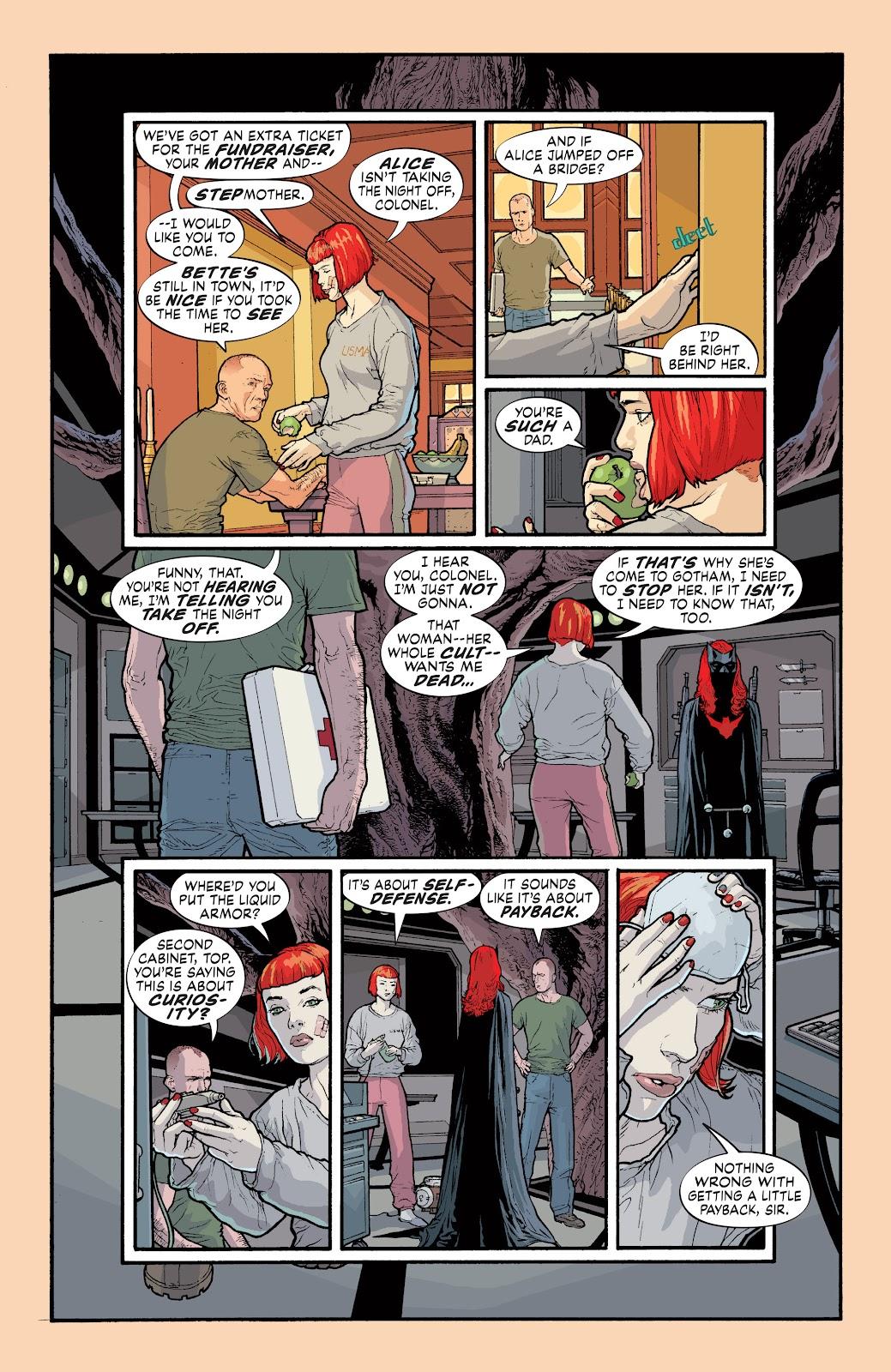 Read online Detective Comics (1937) comic -  Issue # _TPB Batwoman - Elegy (Part 1) - 54