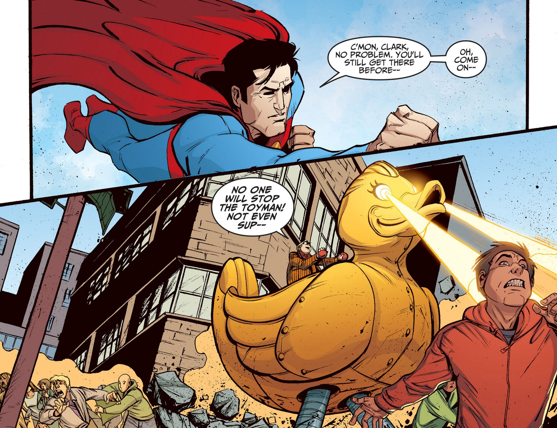 Read online Adventures of Superman [I] comic -  Issue #5 - 11