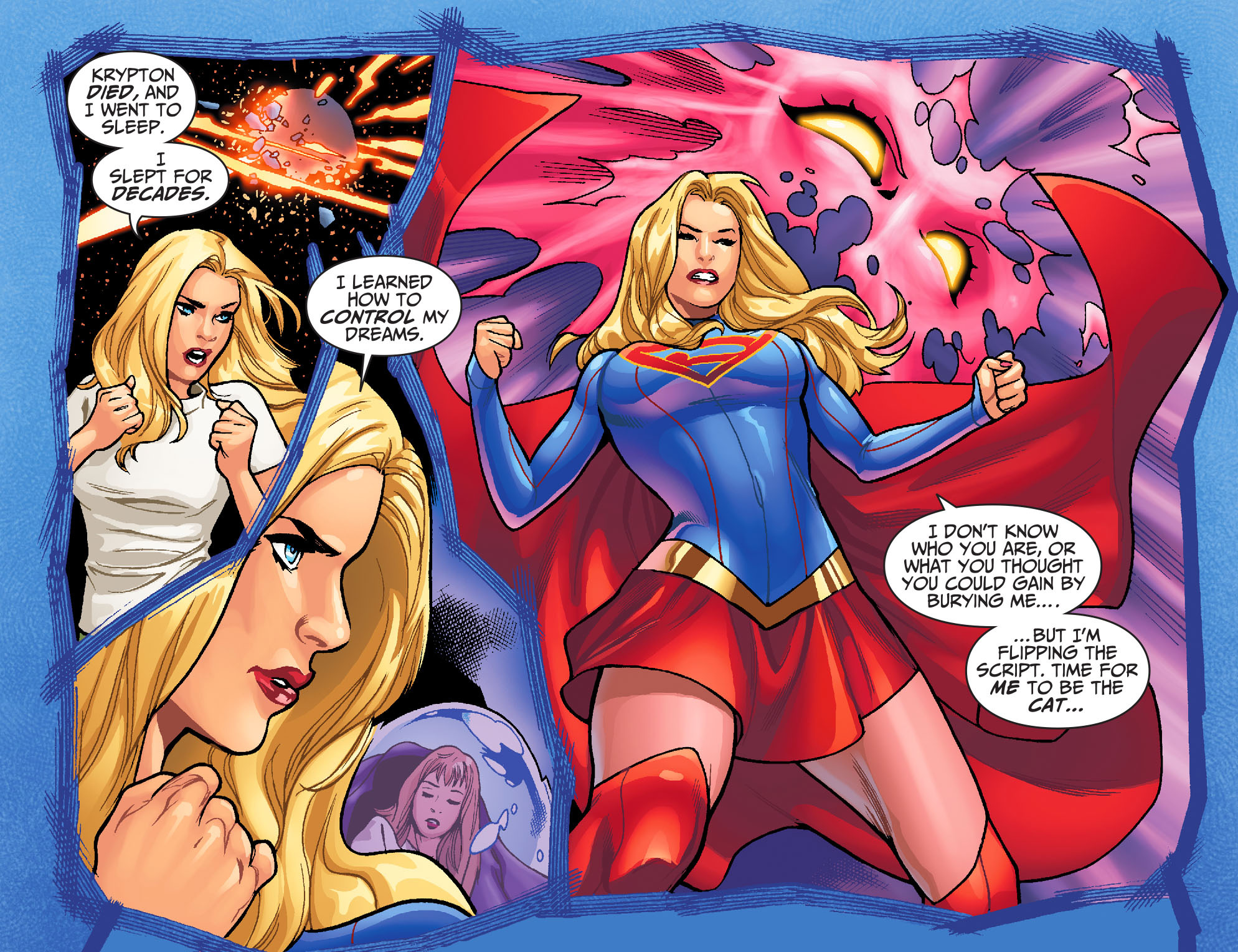 Read online Adventures of Supergirl comic -  Issue #6 - 21