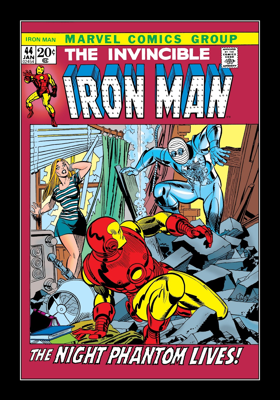 Read online Marvel Masterworks: The Invincible Iron Man comic -  Issue # TPB 8 (Part 2) - 8