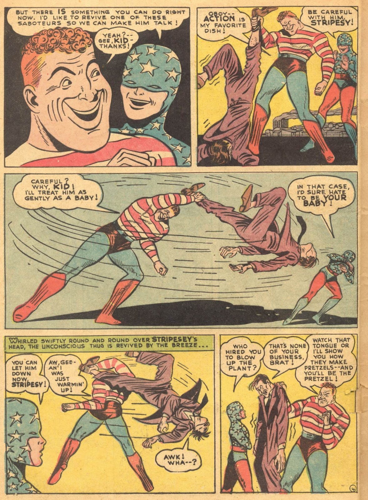 Star Spangled Comics (1941) issue 1 - Page 6