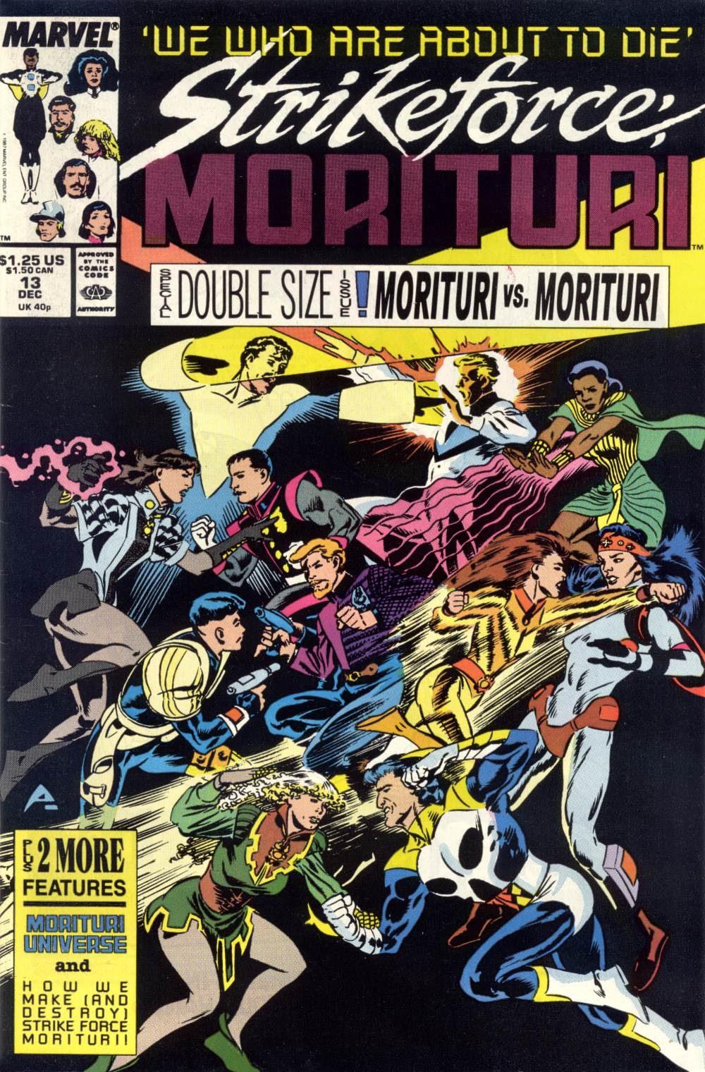 Strikeforce: Morituri 13 Page 1