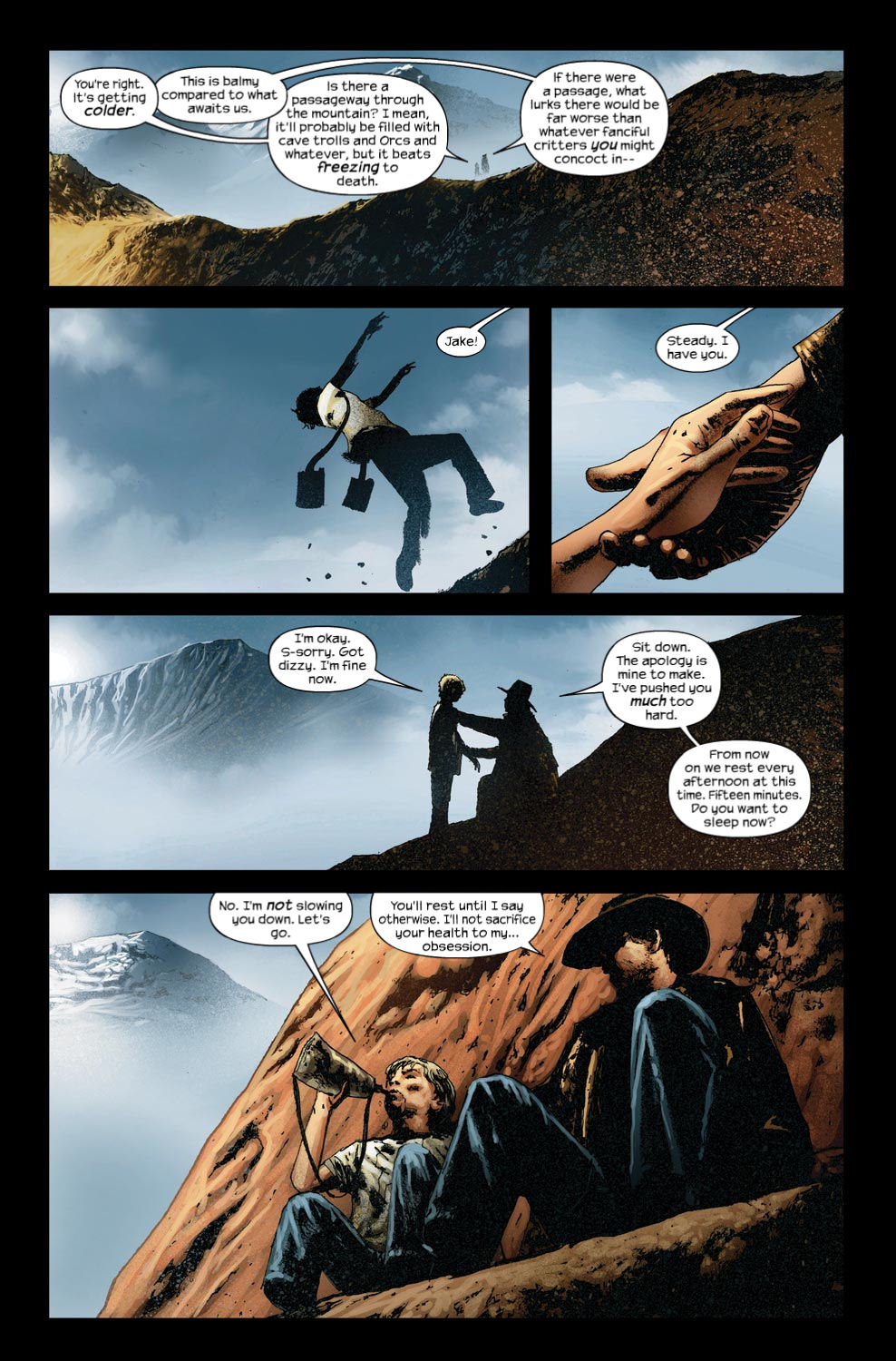 Read online Dark Tower: The Gunslinger - The Way Station comic -  Issue #4 - 5