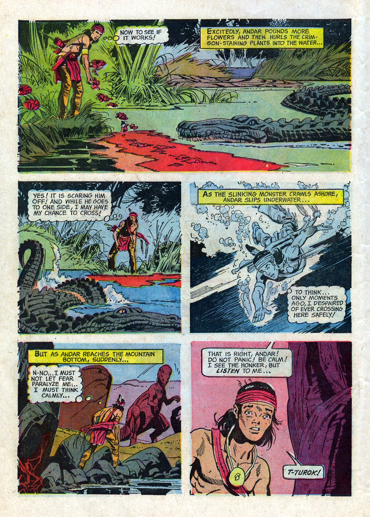 Read online Turok, Son of Stone comic -  Issue #61 - 10