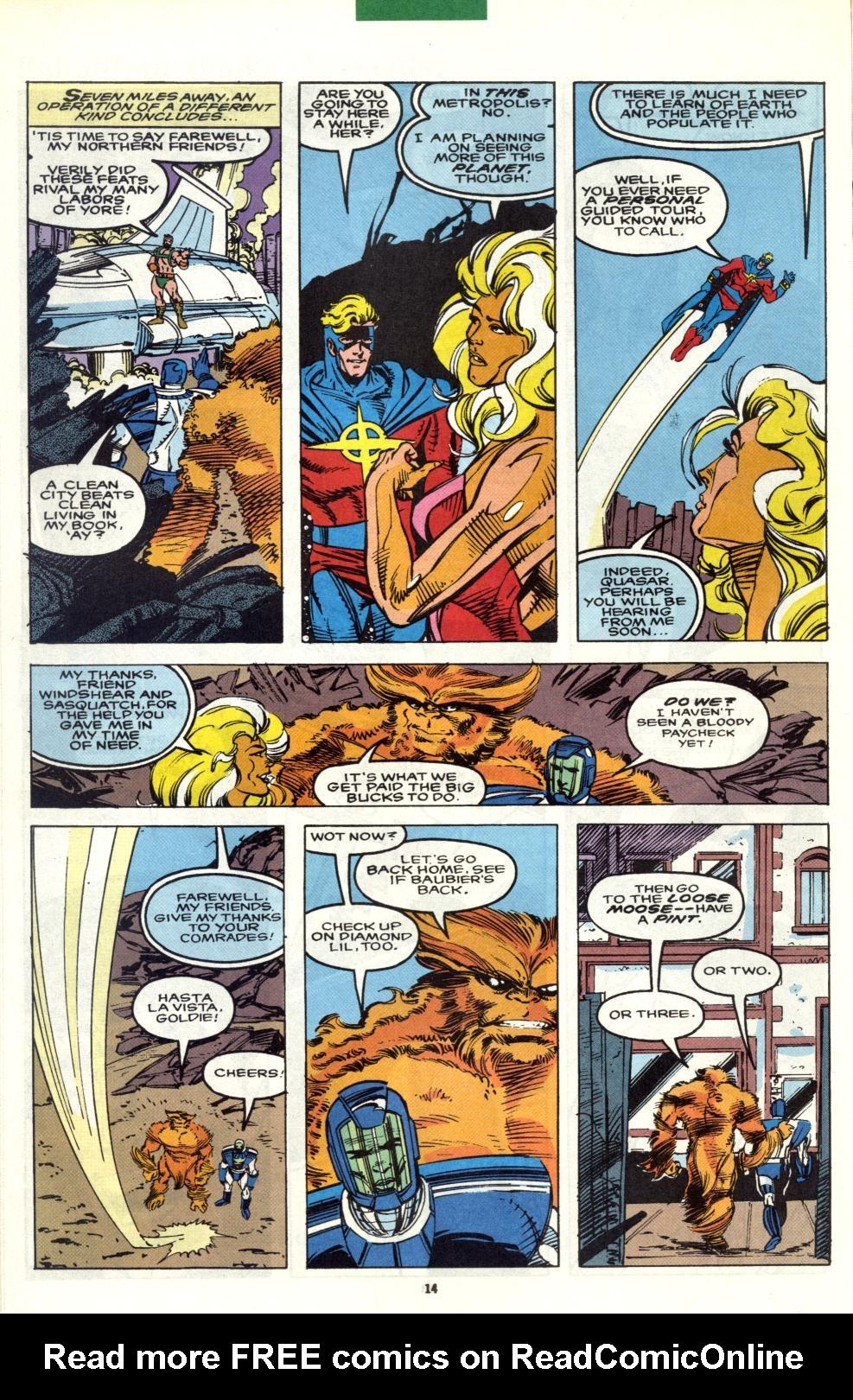 Read online Alpha Flight (1983) comic -  Issue #101 - 12
