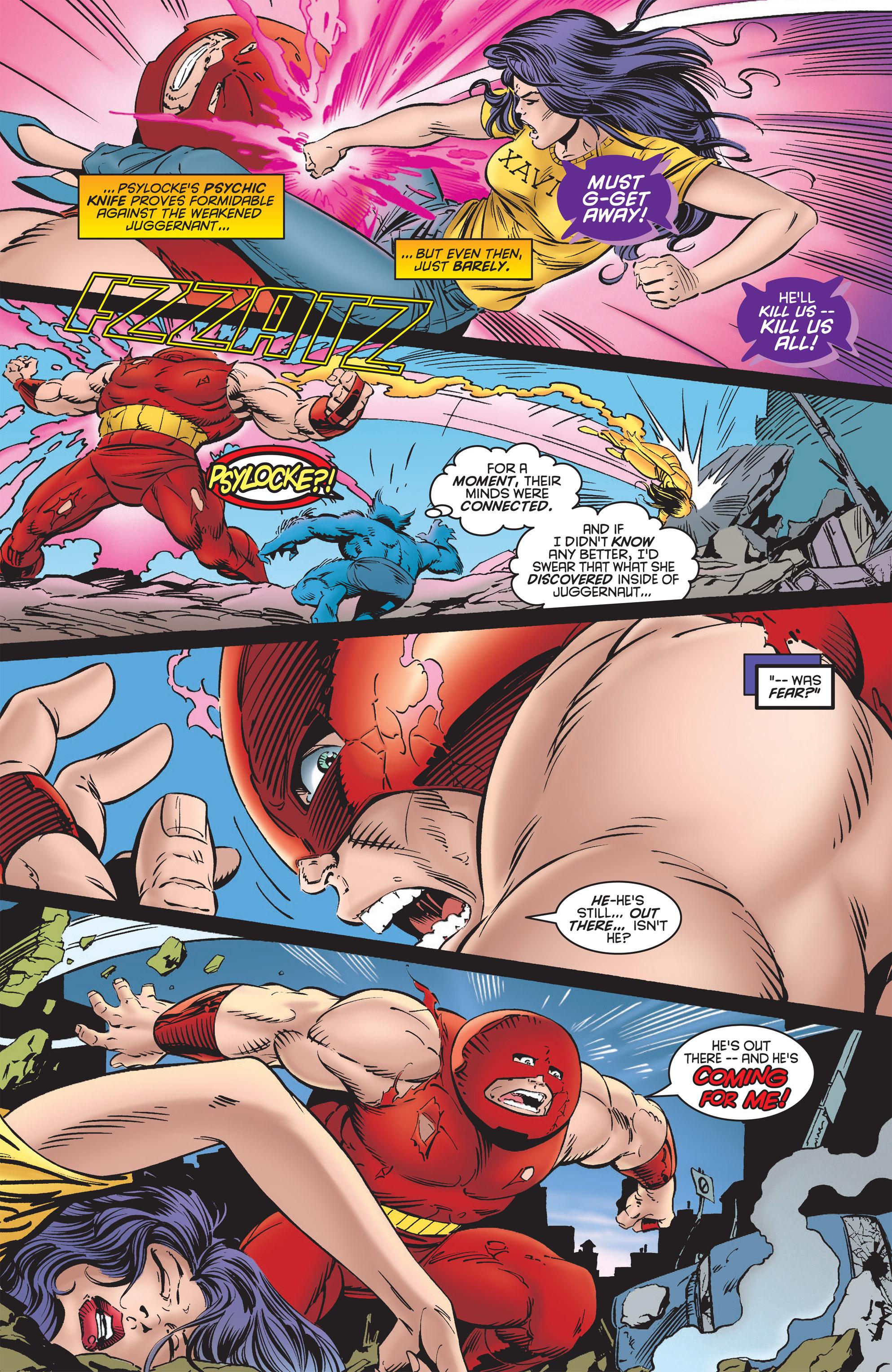 Read online Uncanny X-Men (1963) comic -  Issue #322 - 17