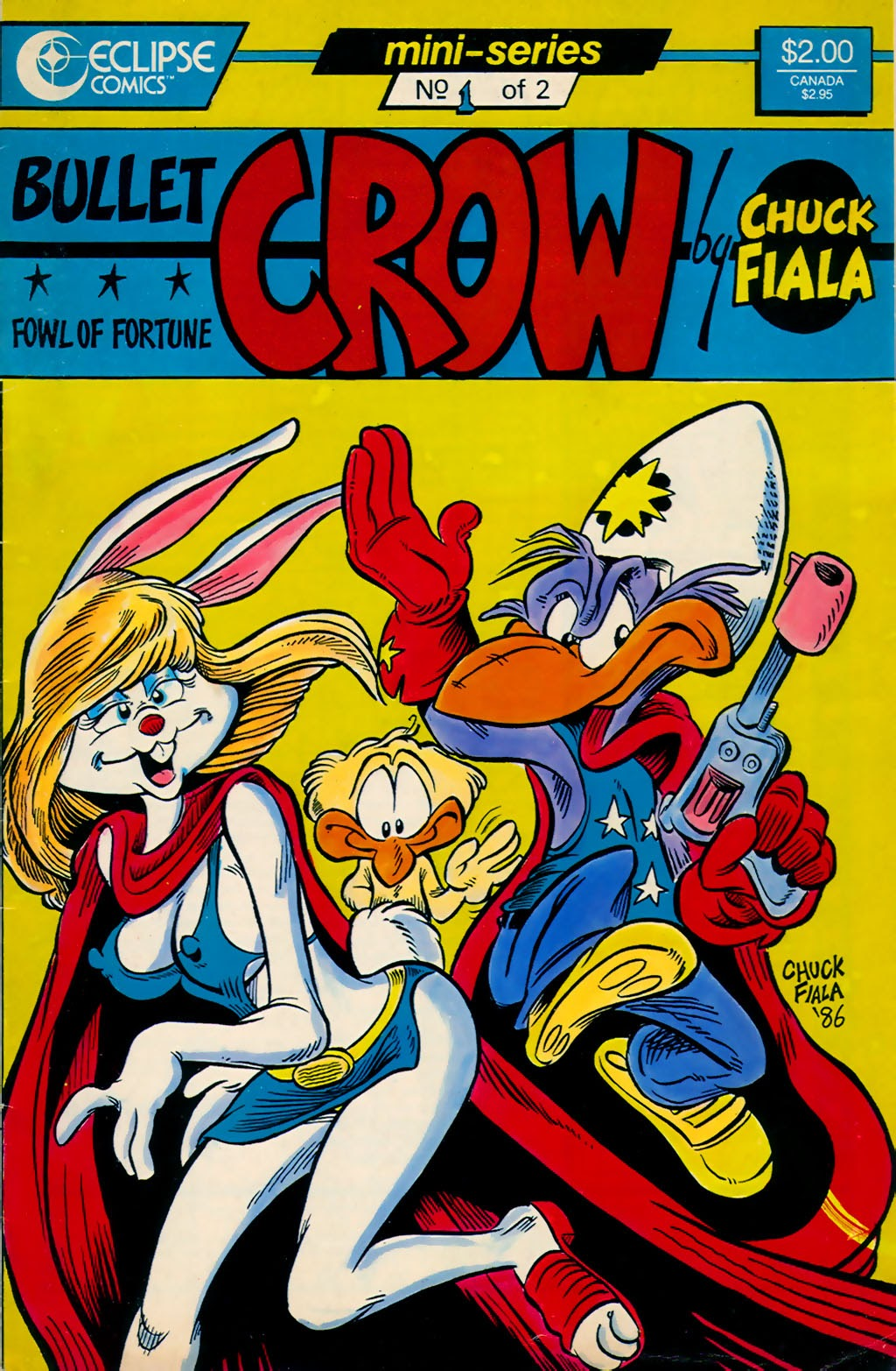 Read online Bullet Crow, Fowl of Fortune comic -  Issue #1 - 1
