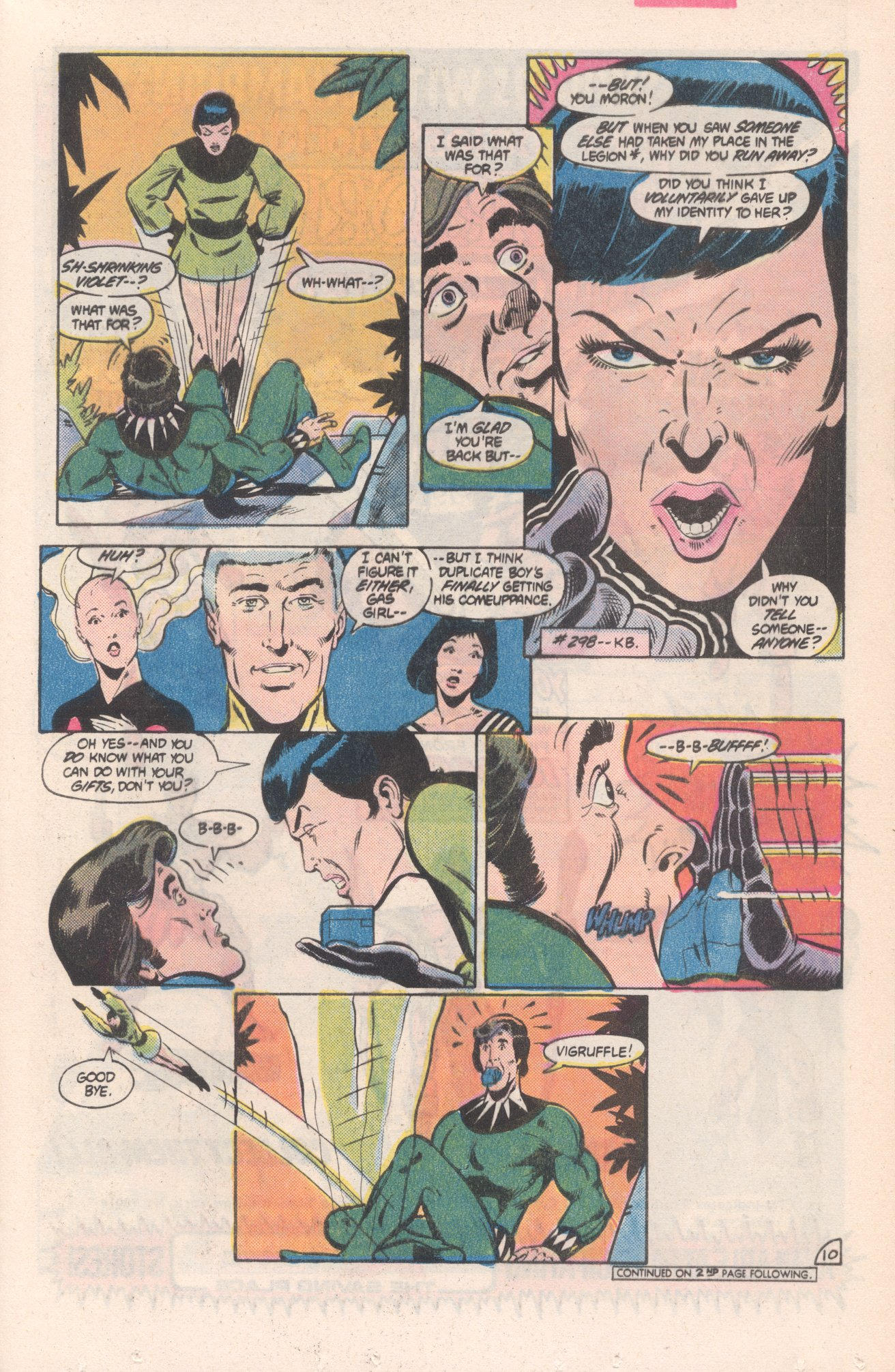 Legion of Super-Heroes (1980) 313 Page 10