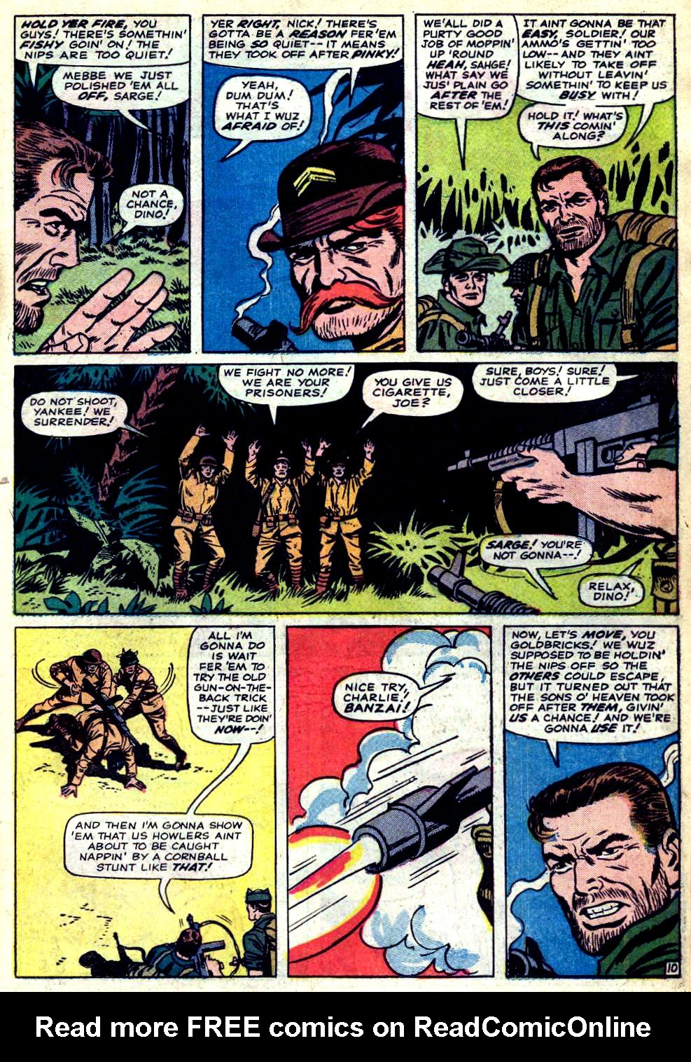 Read online Sgt. Fury comic -  Issue #23 - 15