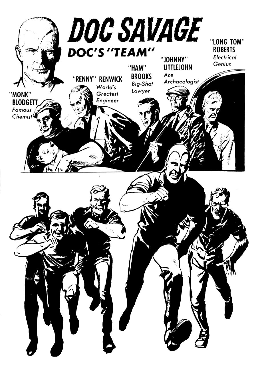 Read online Doc Savage (1966) comic -  Issue # Full - 35