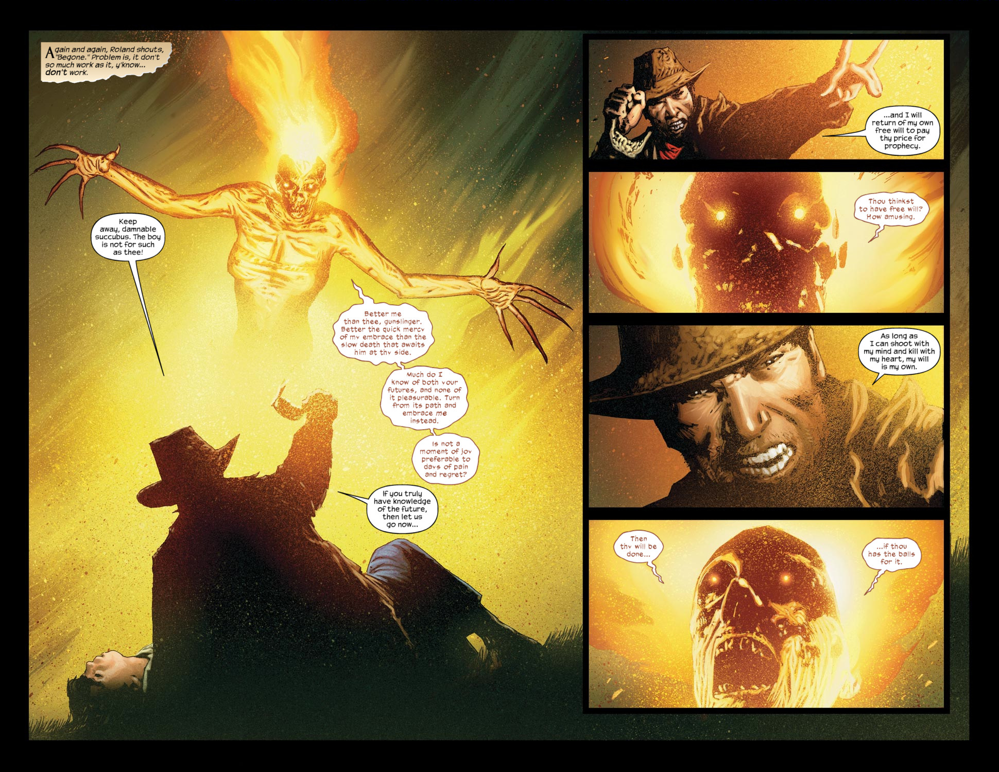 Read online Dark Tower: The Gunslinger - The Way Station comic -  Issue #5 - 4