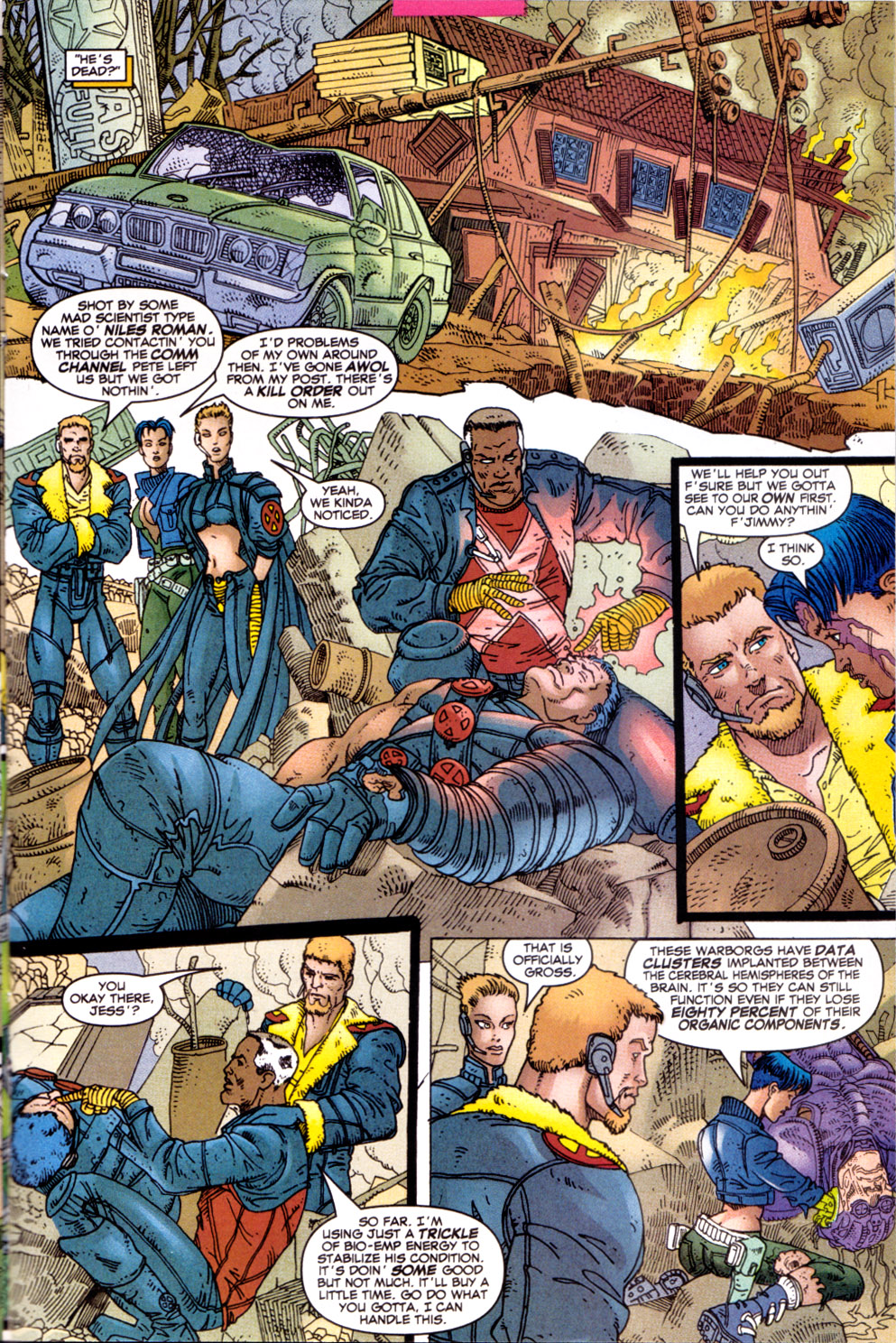 Read online X-Force (1991) comic -  Issue #111 - 11