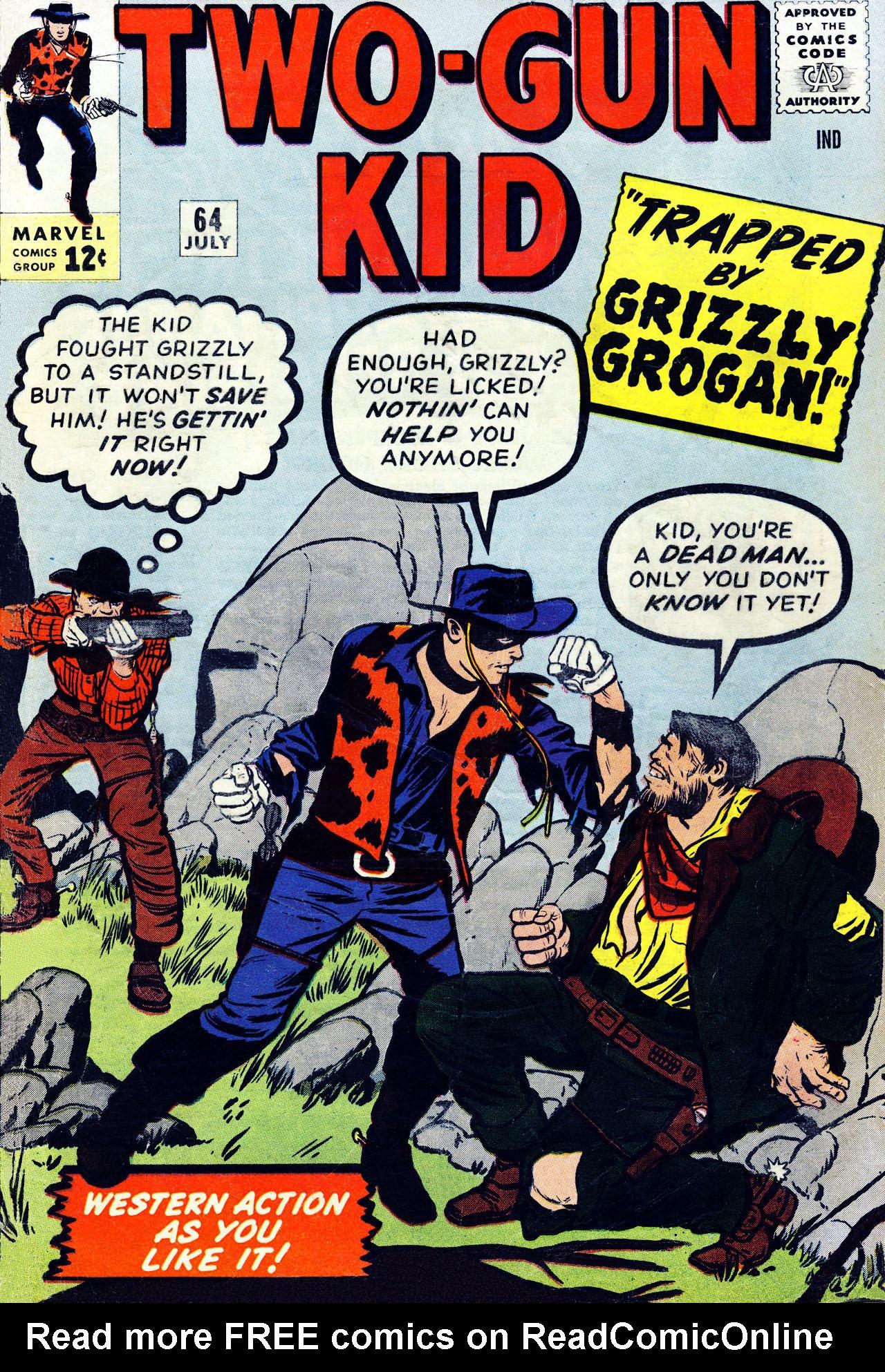 Read online Two-Gun Kid comic -  Issue #64 - 1
