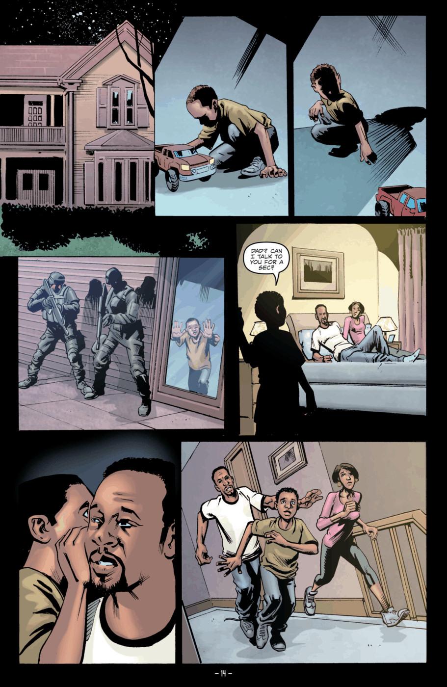 Read online Jericho Season 4 comic -  Issue #2 - 16