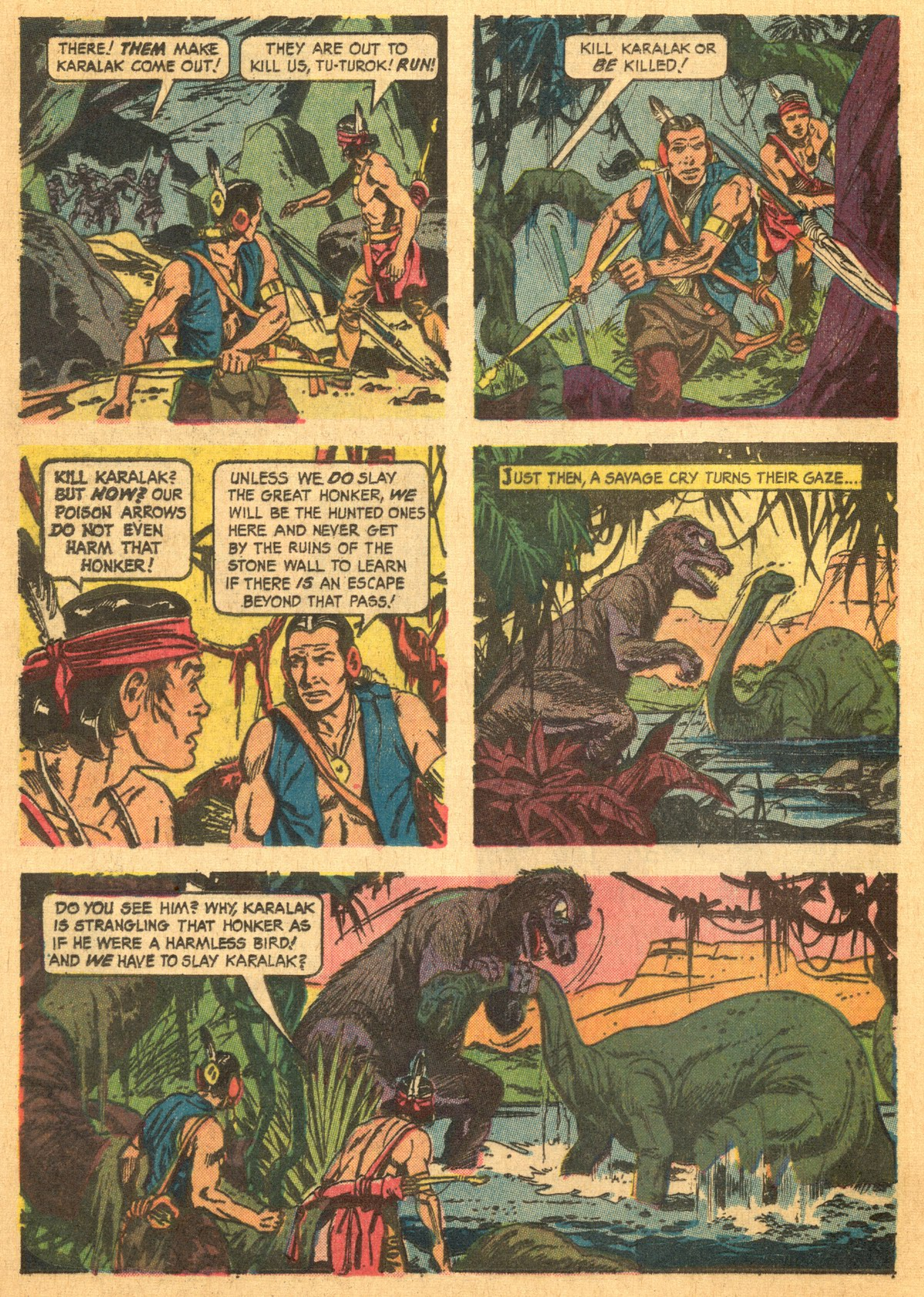Read online Turok, Son of Stone comic -  Issue #46 - 12