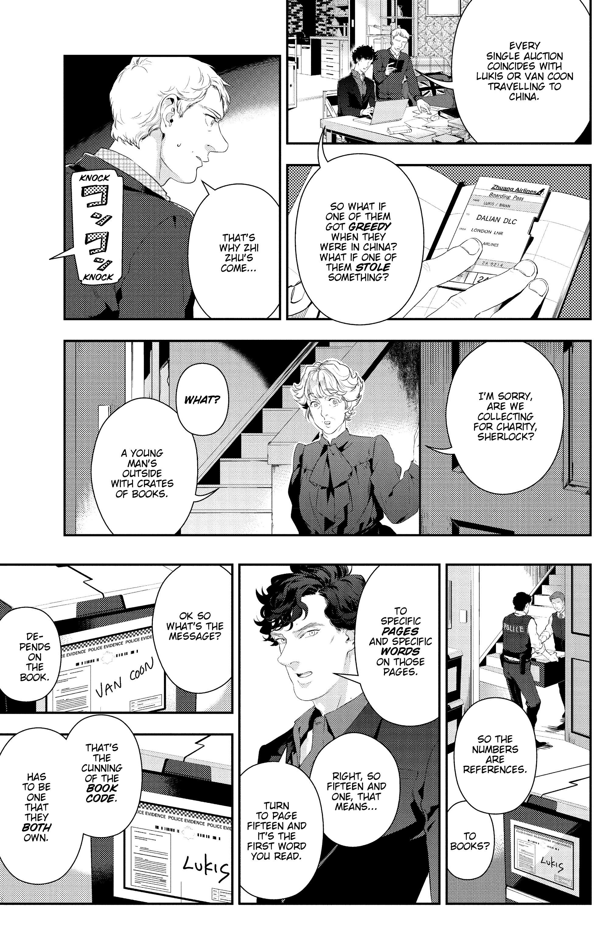 Read online Sherlock: The Blind Banker comic -  Issue #5 - 8