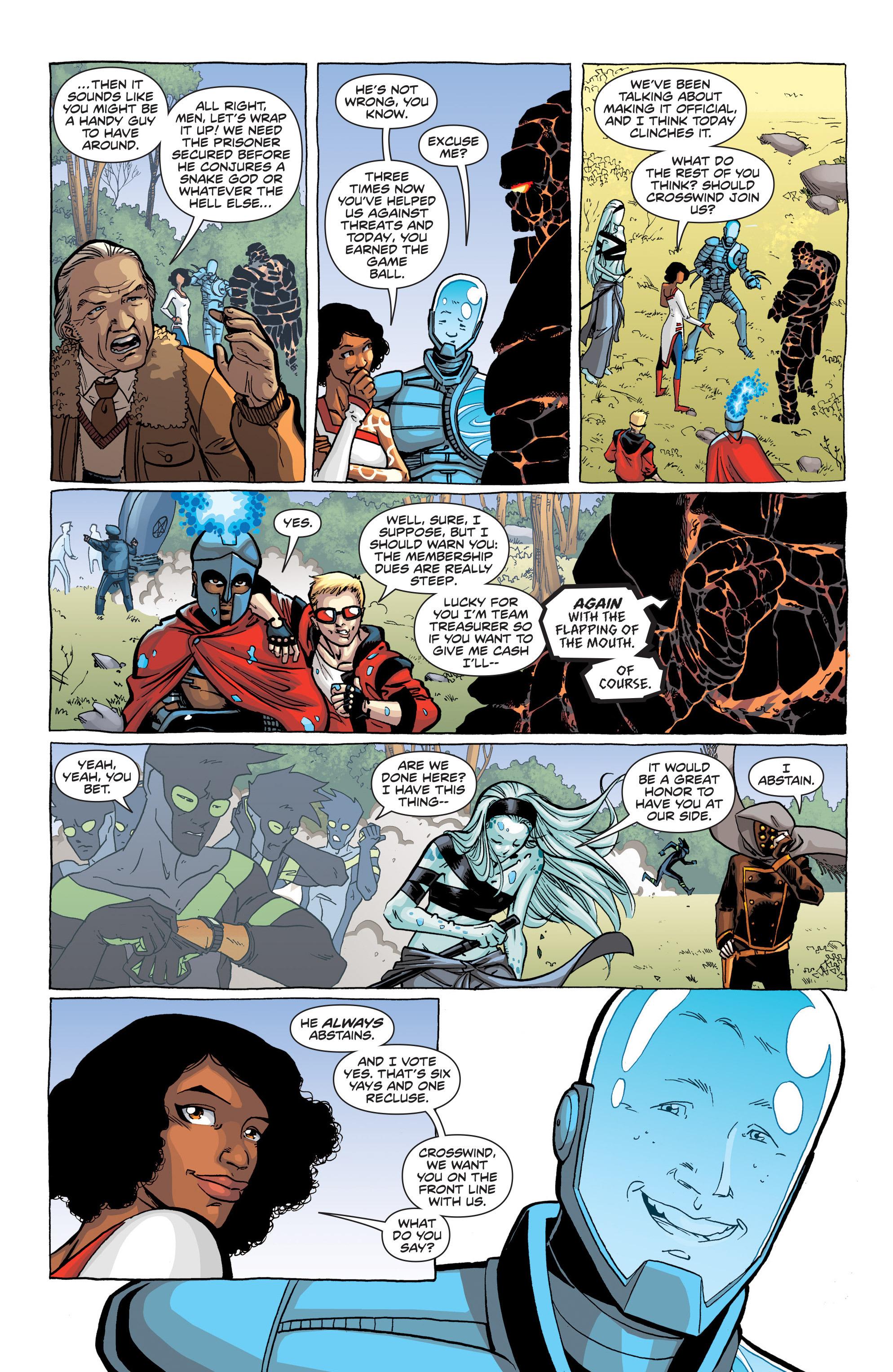 Read online Secret Identities comic -  Issue # _TPB - 12