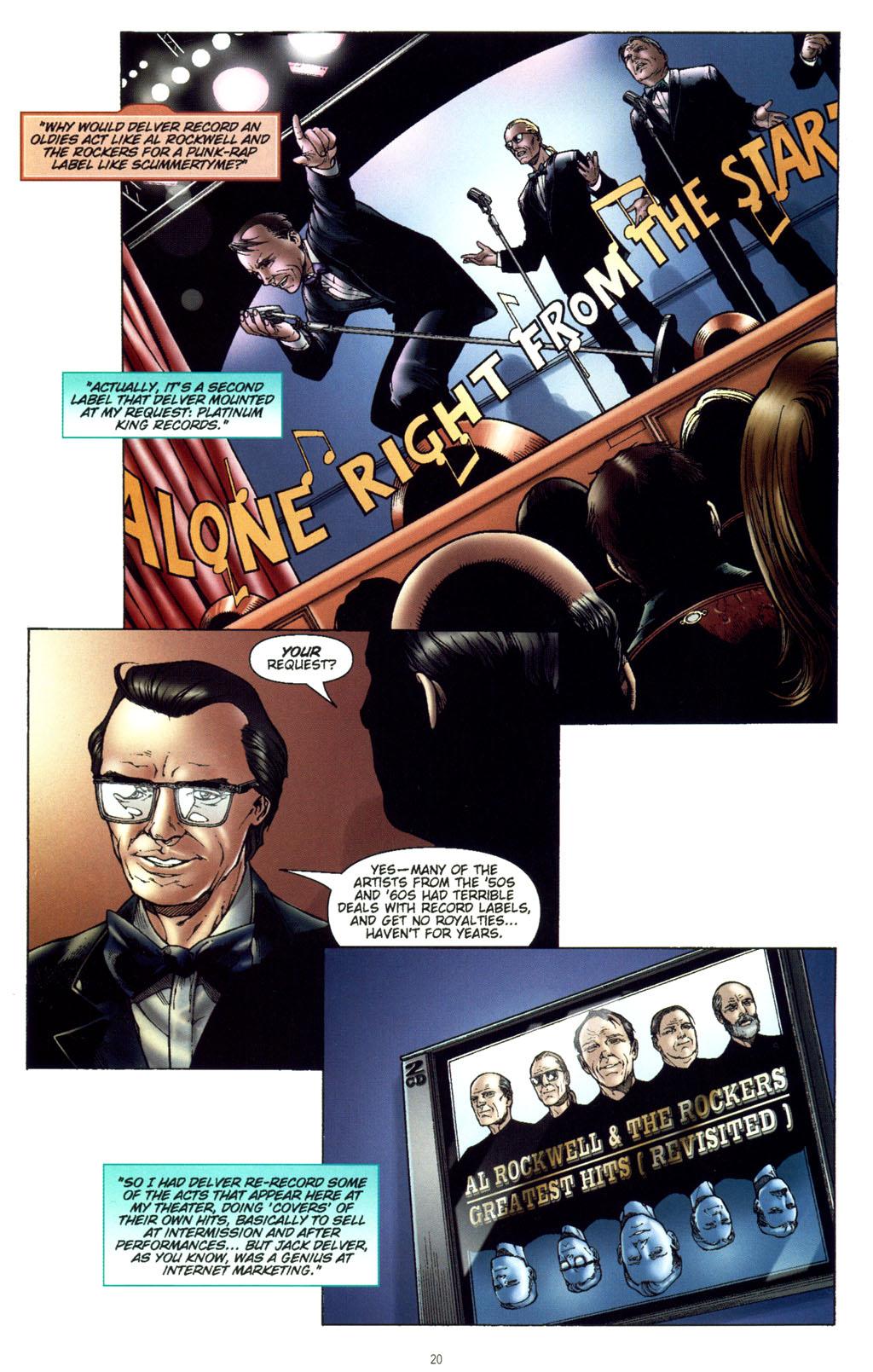 Read online CSI: Crime Scene Investigation: Bad Rap comic -  Issue #5 - 23