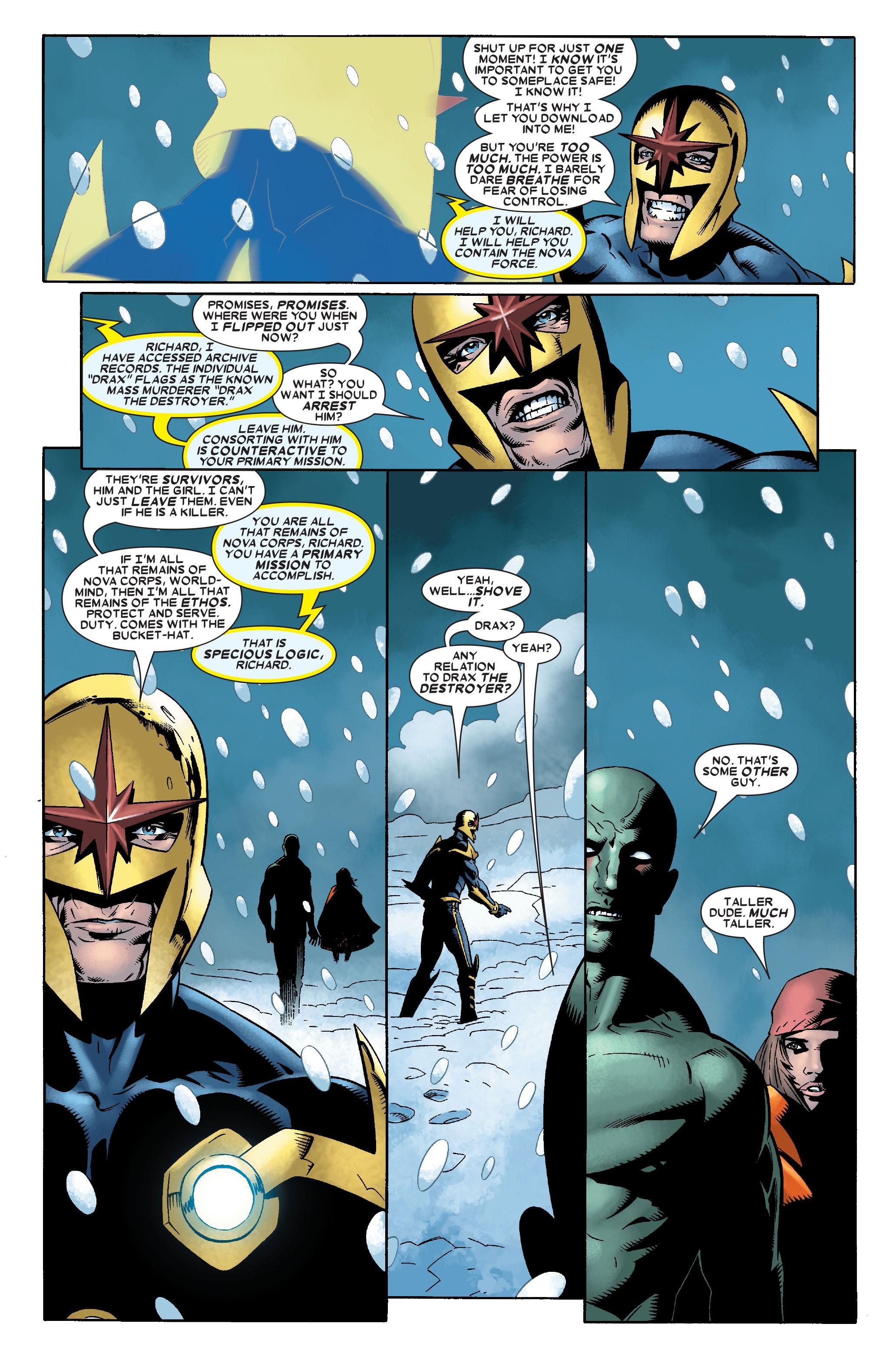 Read online Annihilation: Nova comic -  Issue #2 - 7