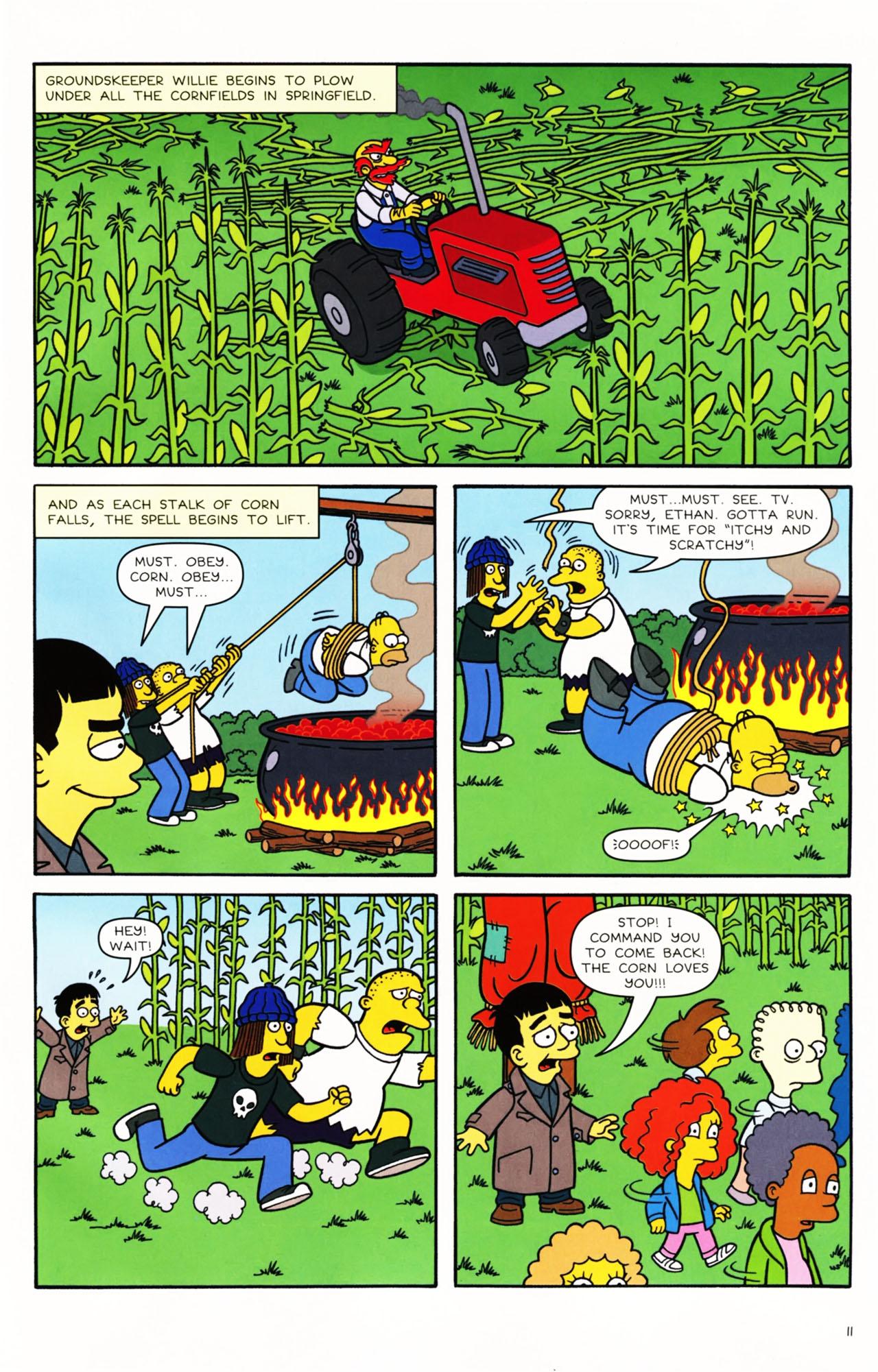 Read online Simpsons Comics Presents Bart Simpson comic -  Issue #49 - 12