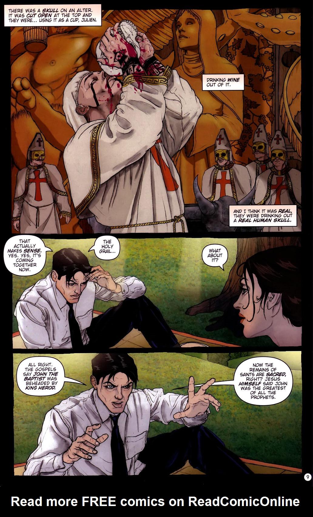Read online Rex Mundi comic -  Issue #14 - 13
