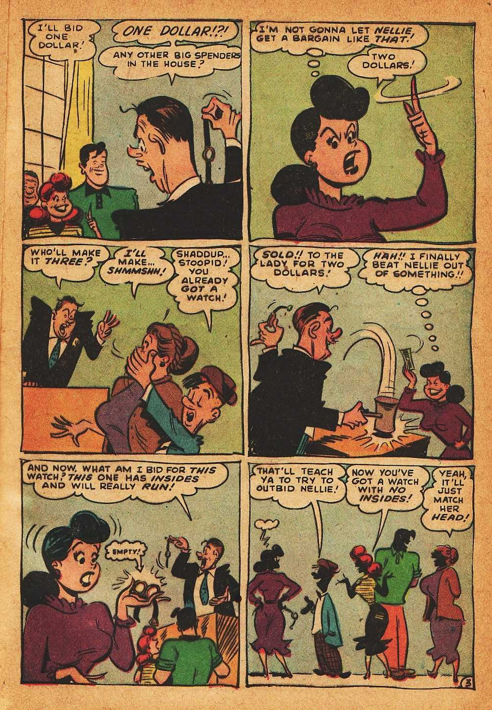 Read online Nellie The Nurse (1945) comic -  Issue #32 - 5