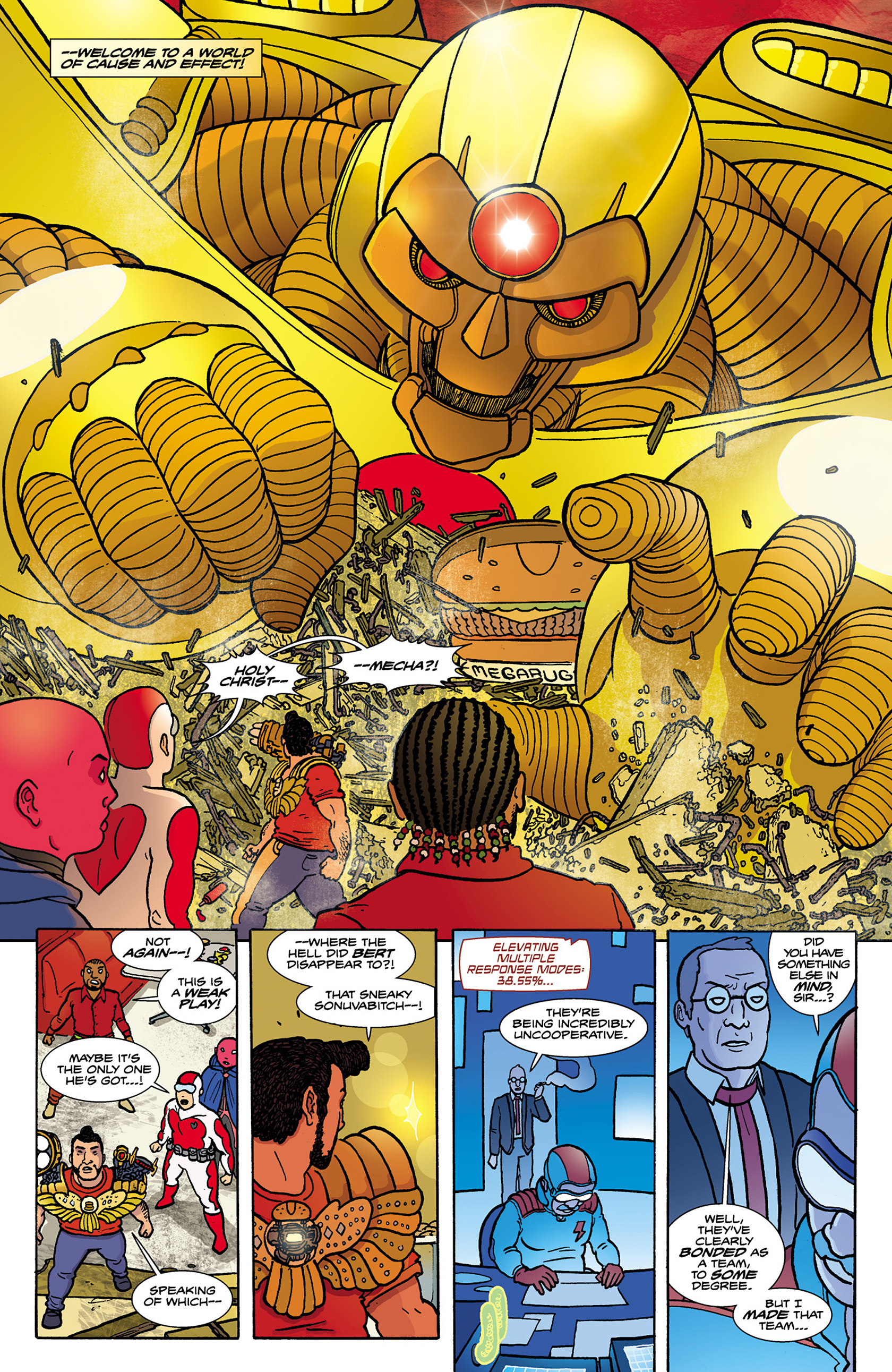 Read online Catalyst Comix comic -  Issue #8 - 10