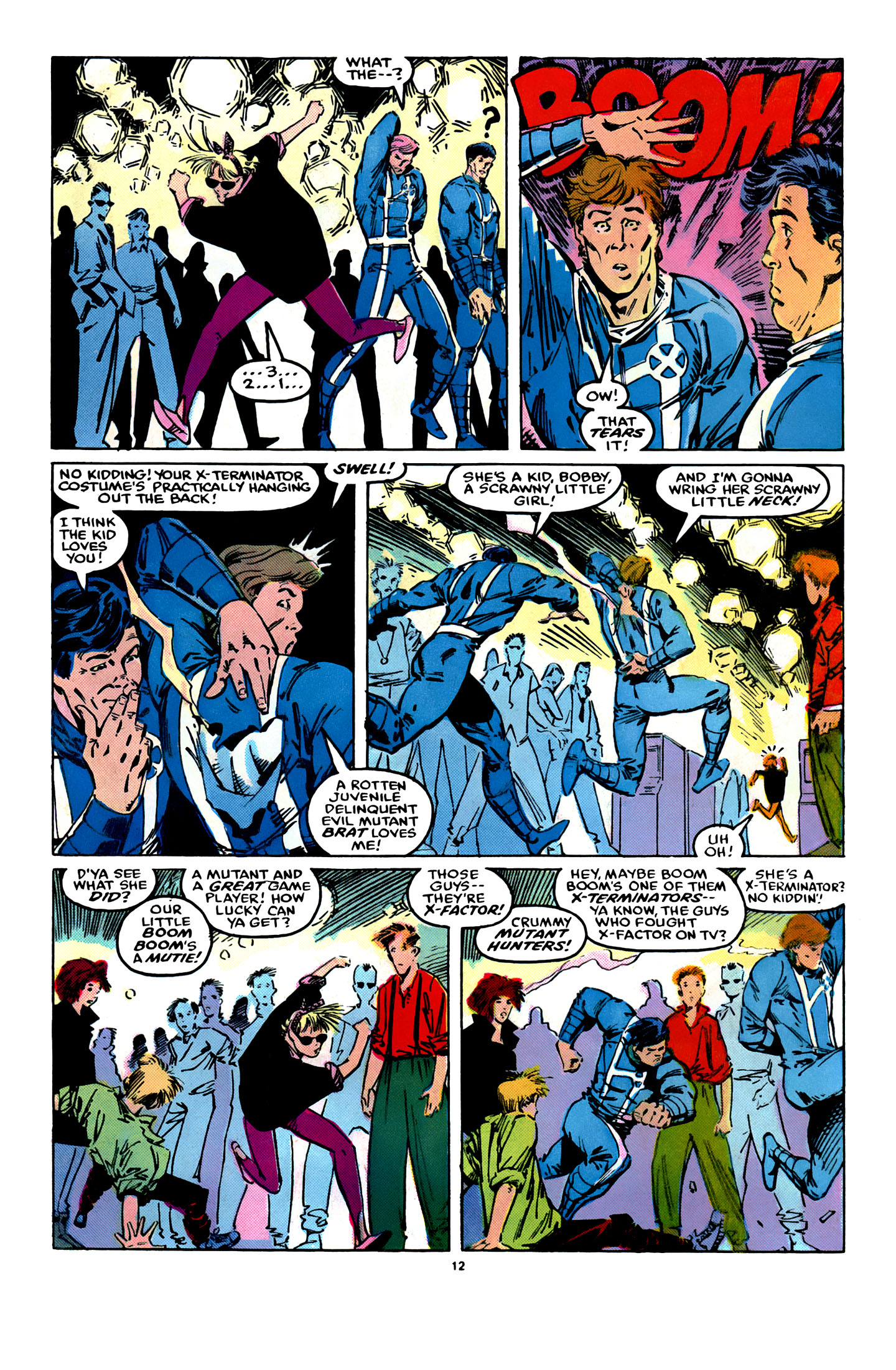 Read online X-Factor (1986) comic -  Issue #12 - 13