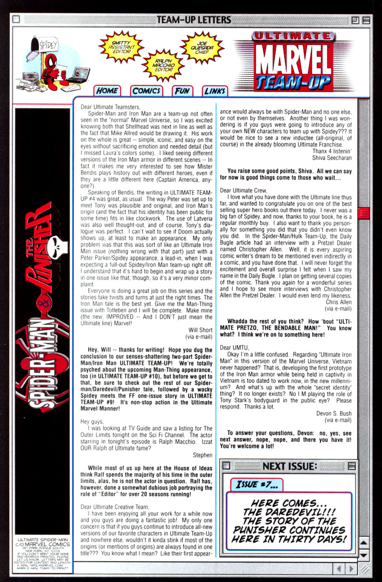 Read online Ultimate Marvel Team-Up comic -  Issue #6 - 34