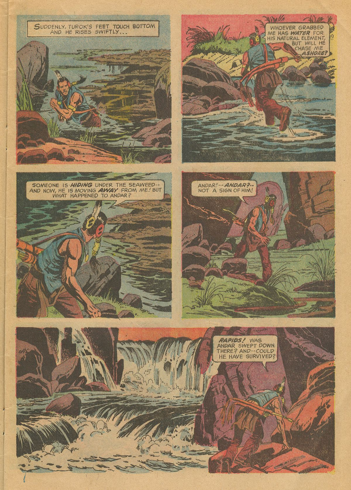 Read online Turok, Son of Stone comic -  Issue #70 - 9