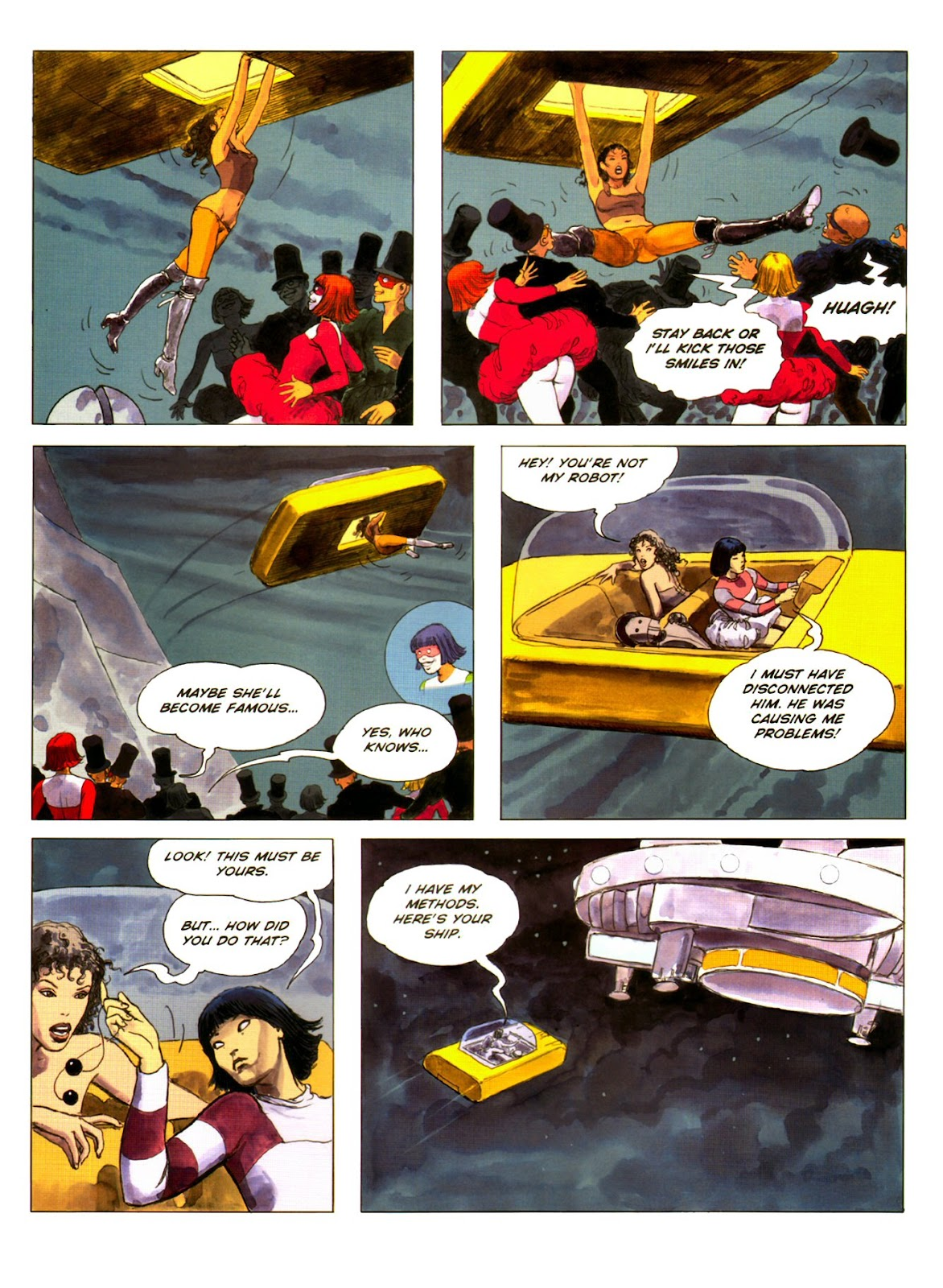 Read online Piranese The Prison Planet comic -  Issue # Full - 46