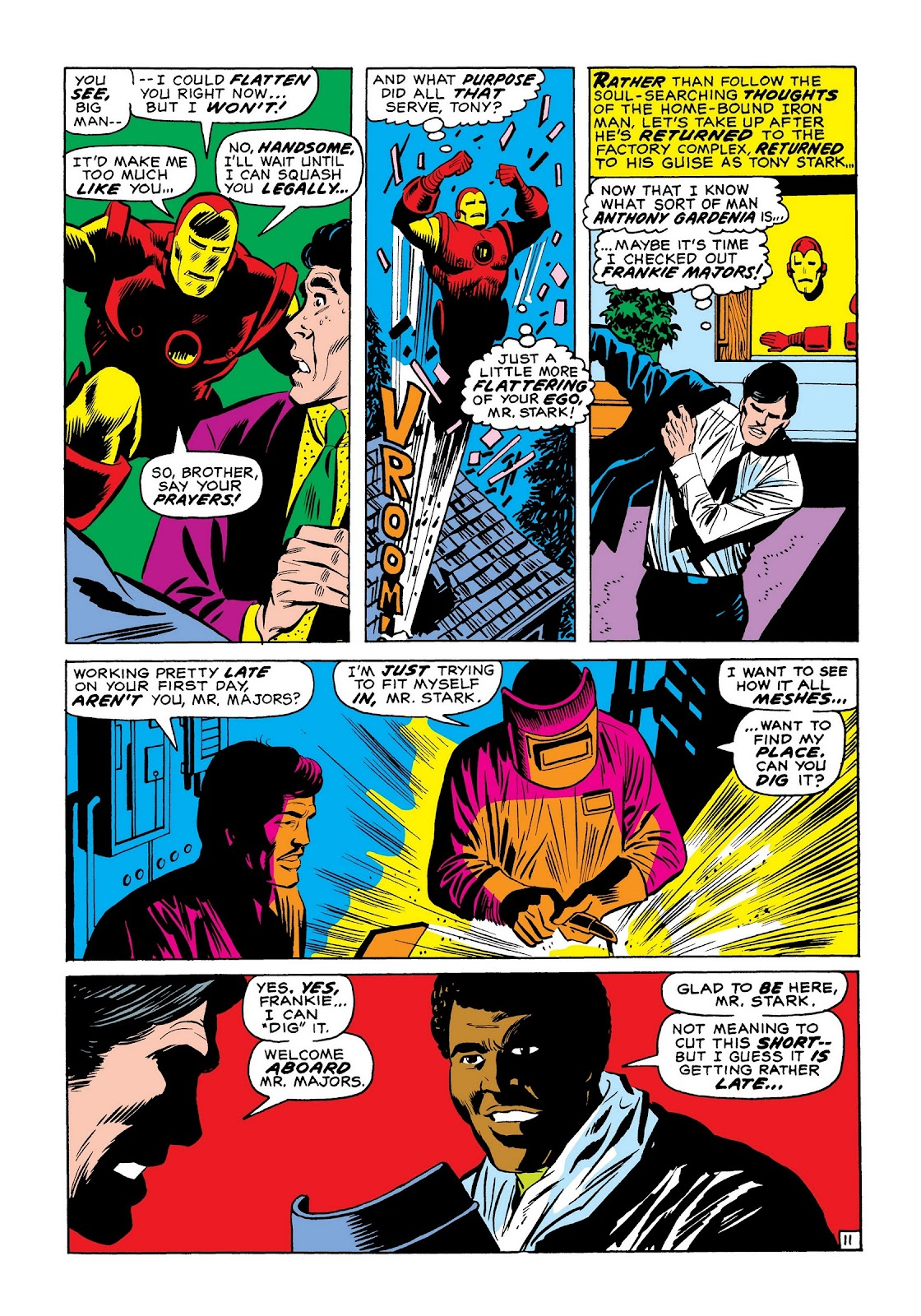 Read online Marvel Masterworks: The Invincible Iron Man comic -  Issue # TPB 7 (Part 3) - 80