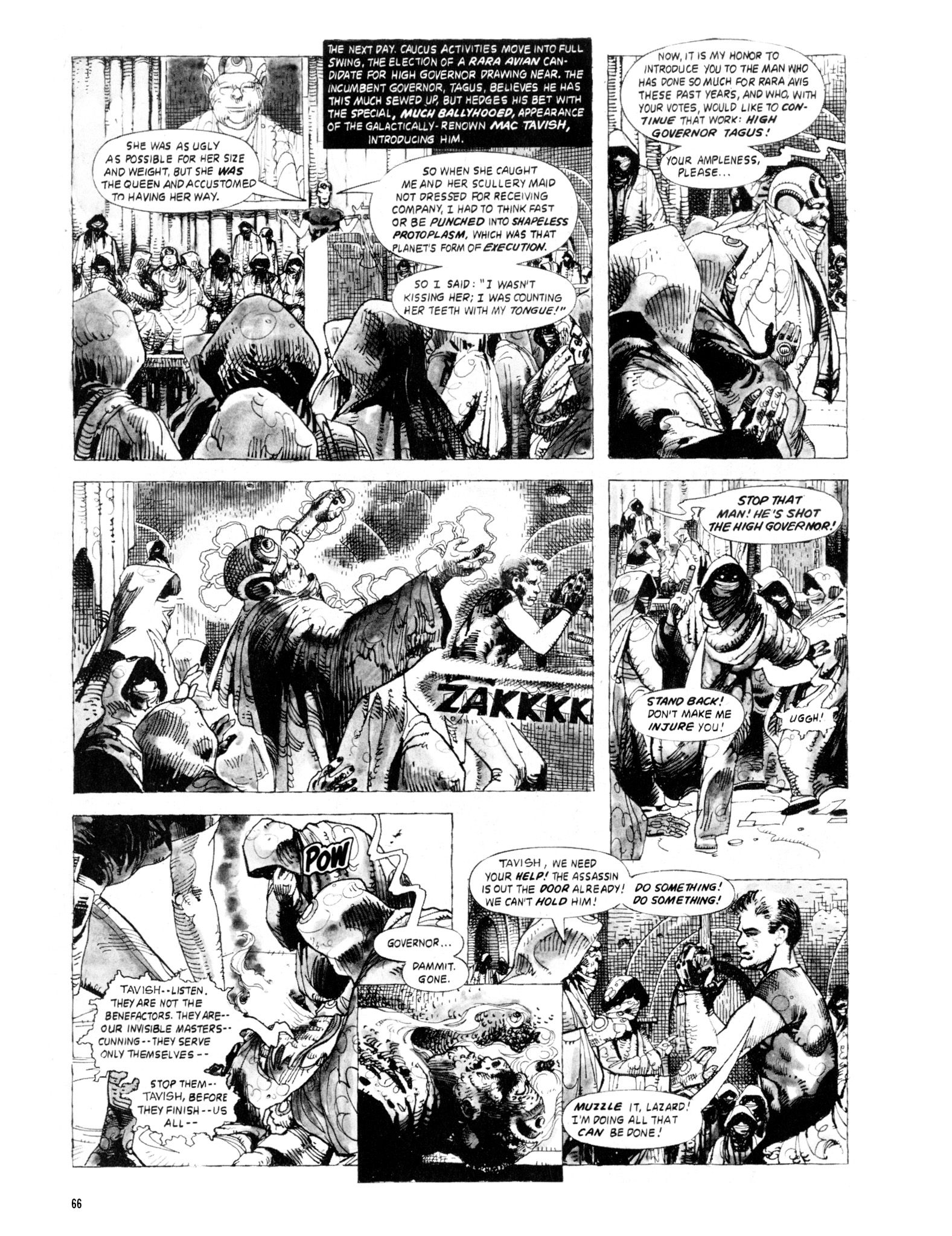Read online Eerie Archives comic -  Issue # TPB 20 - 66