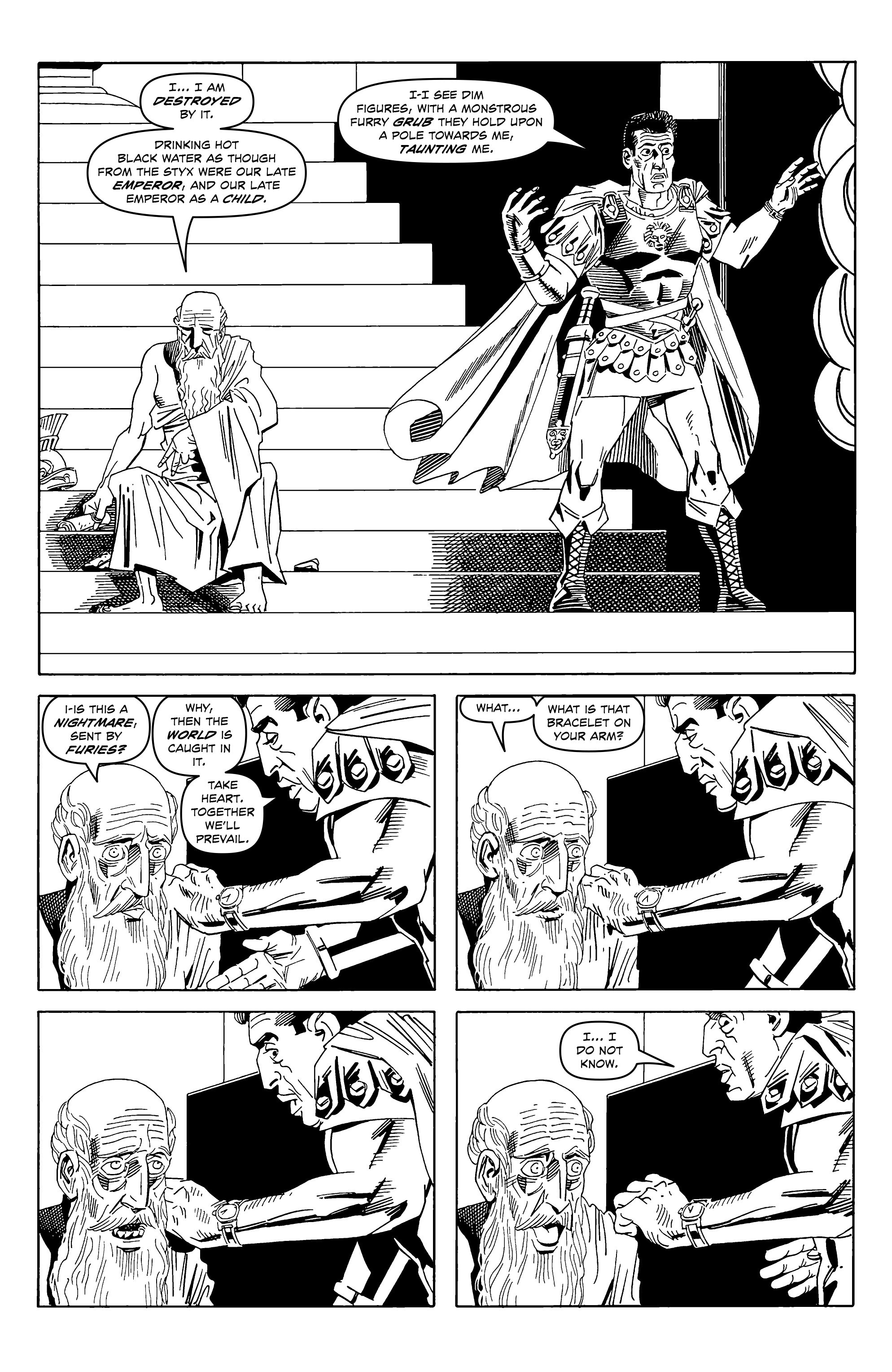 Read online Alan Moore's Cinema Purgatorio comic -  Issue #2 - 8