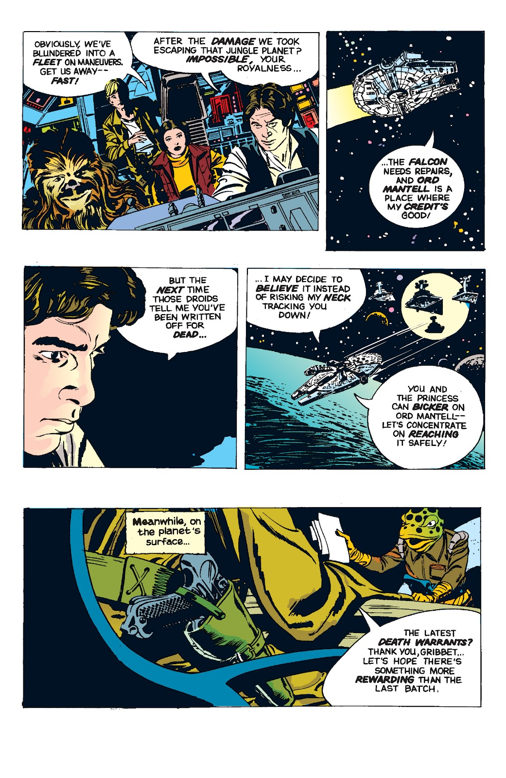 Read online Star Wars Legends: The Newspaper Strips - Epic Collection comic -  Issue # TPB (Part 4) - 94