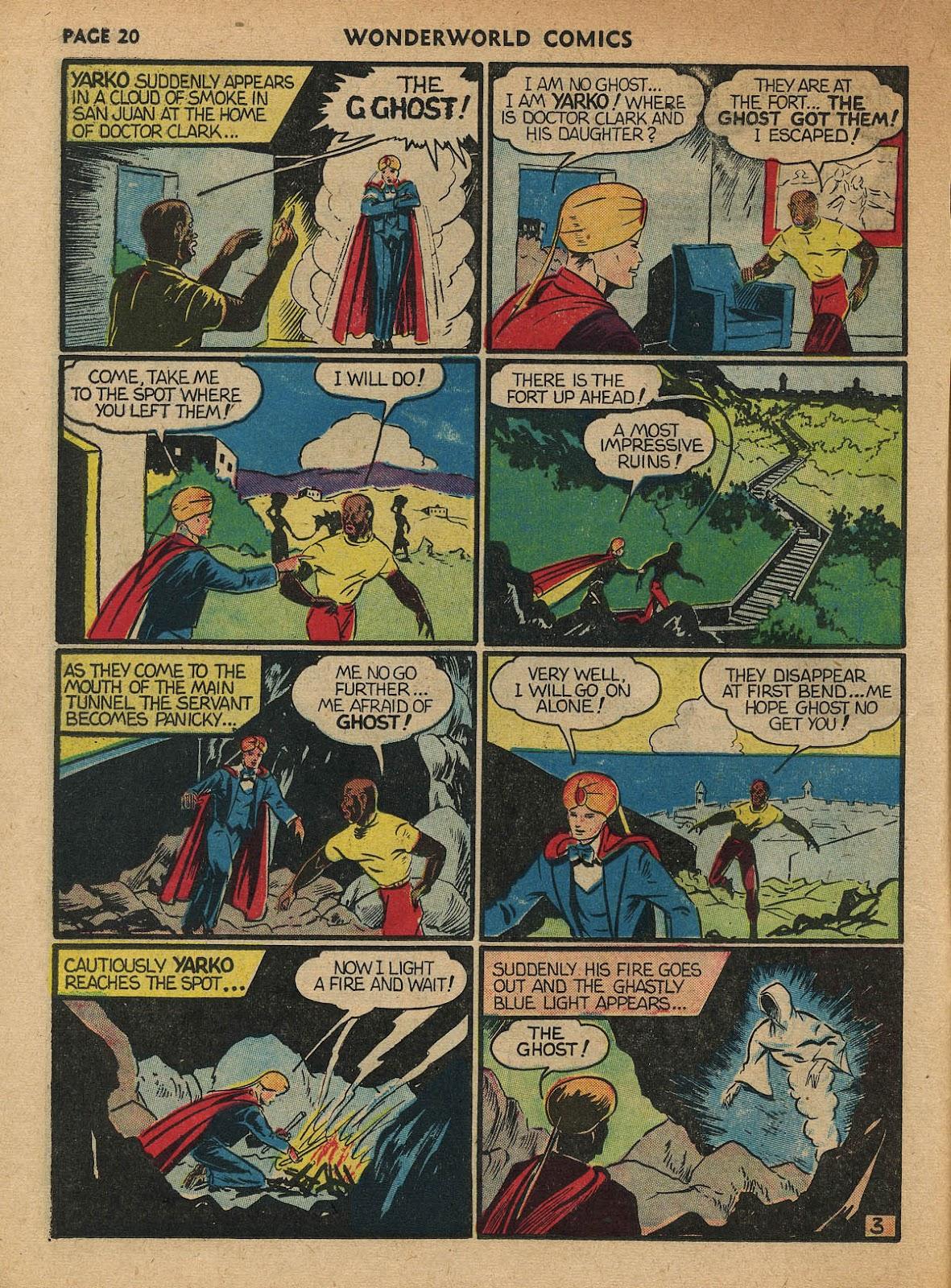 Wonderworld Comics issue 23 - Page 22