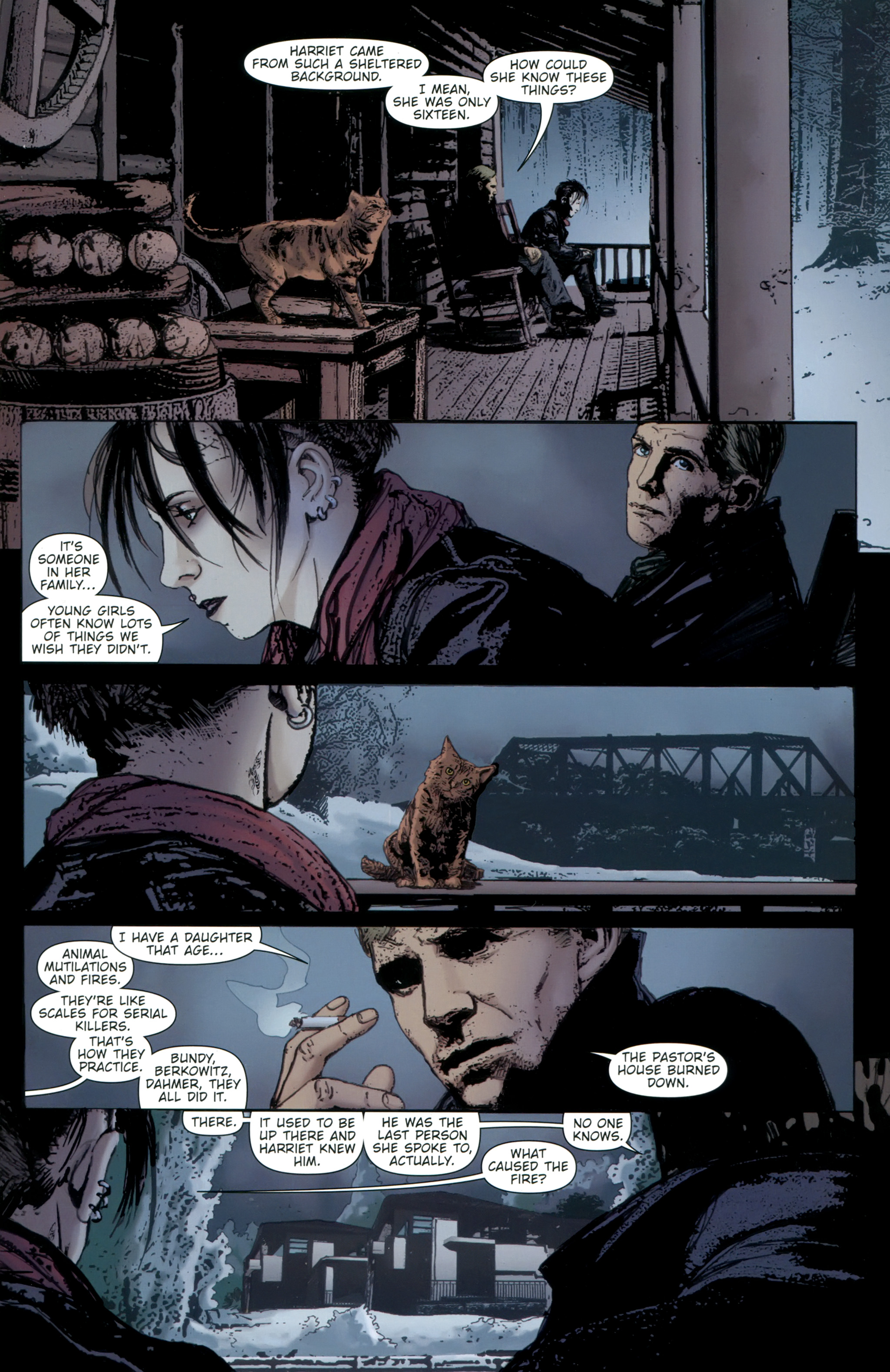 Read online The Girl With the Dragon Tattoo comic -  Issue # TPB 2 - 67