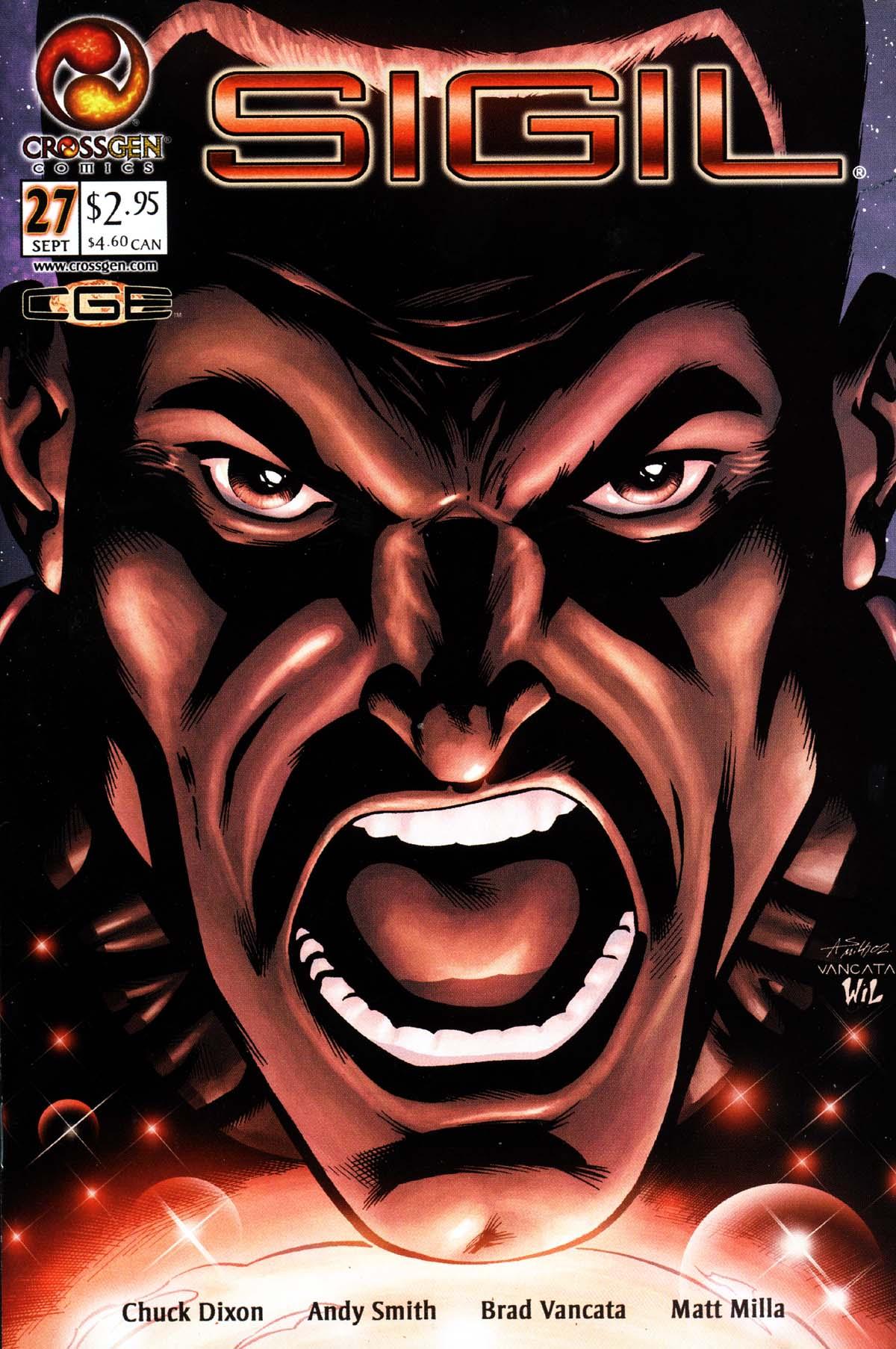 Read online Sigil (2000) comic -  Issue #27 - 1