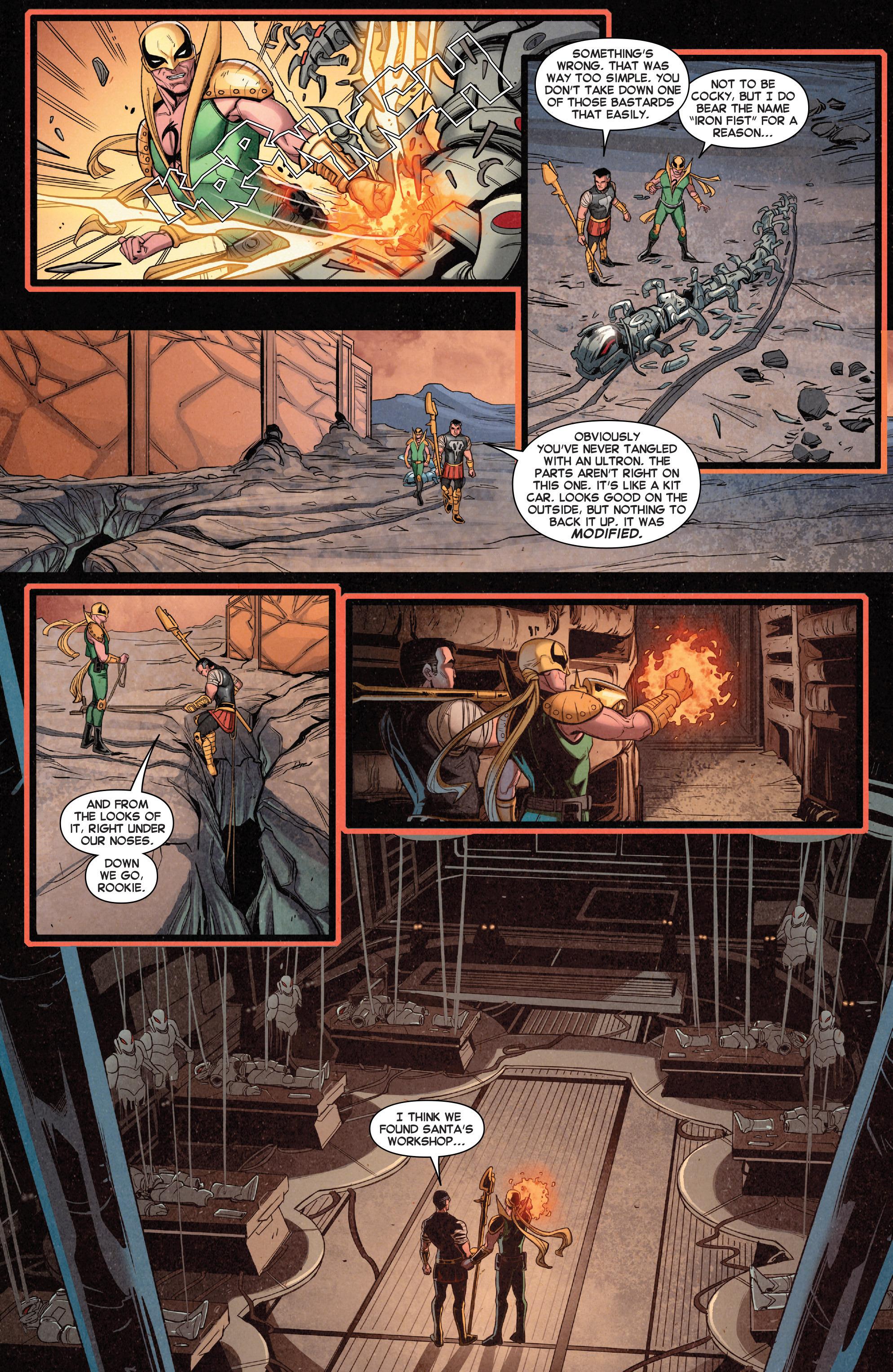 Read online Secret Wars Journal comic -  Issue #4 - 6