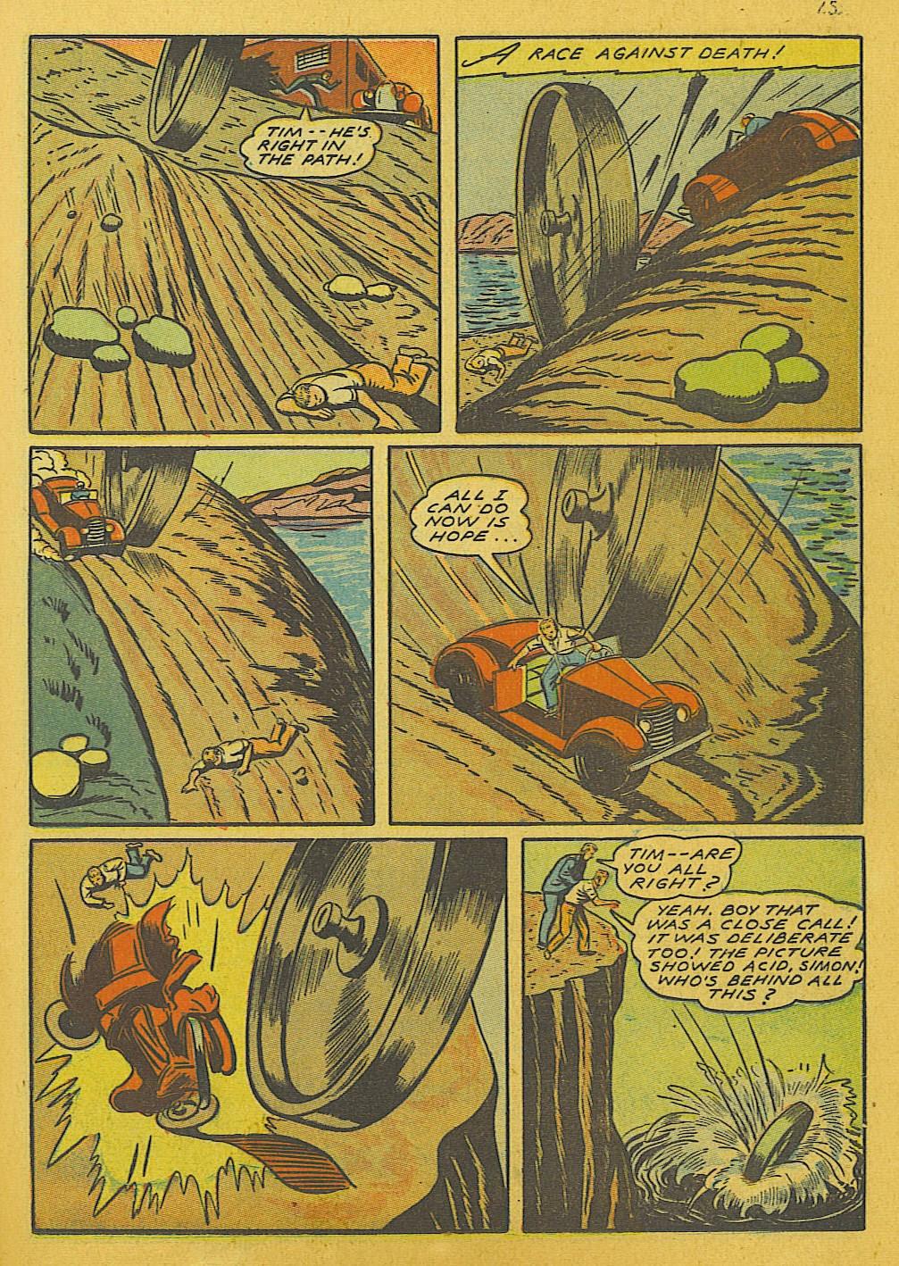 Read online Super-Magician Comics comic -  Issue #10 - 45
