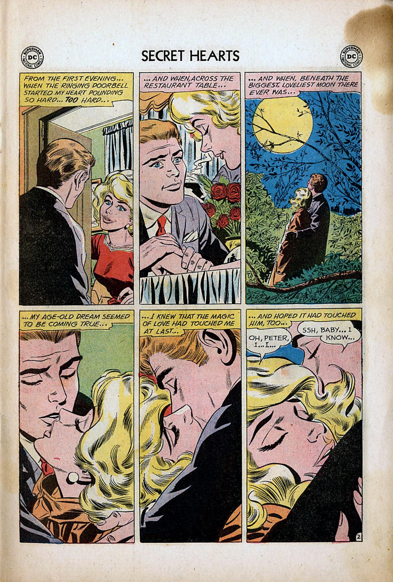 Read online Secret Hearts comic -  Issue #80 - 11