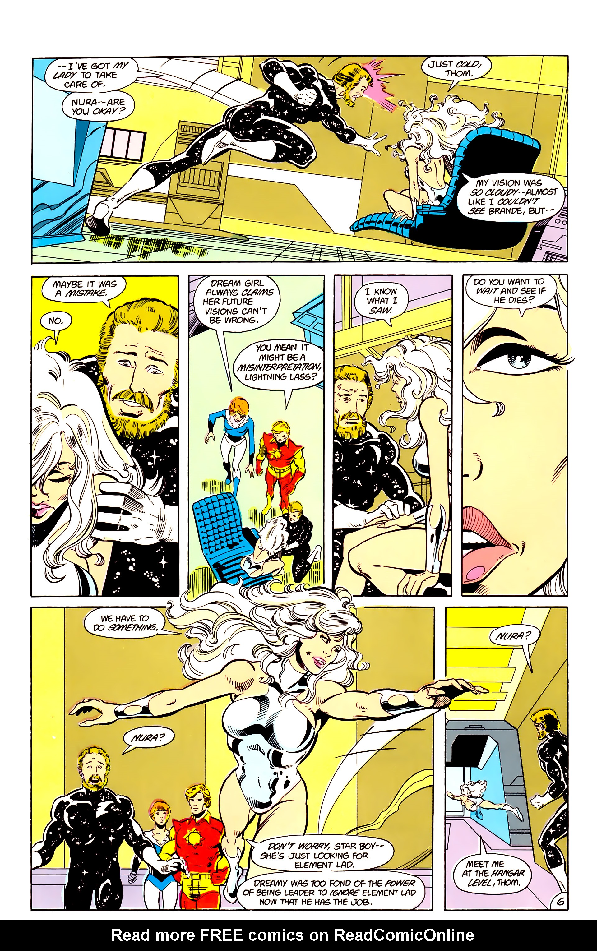 Legion of Super-Heroes (1984) 17 Page 7