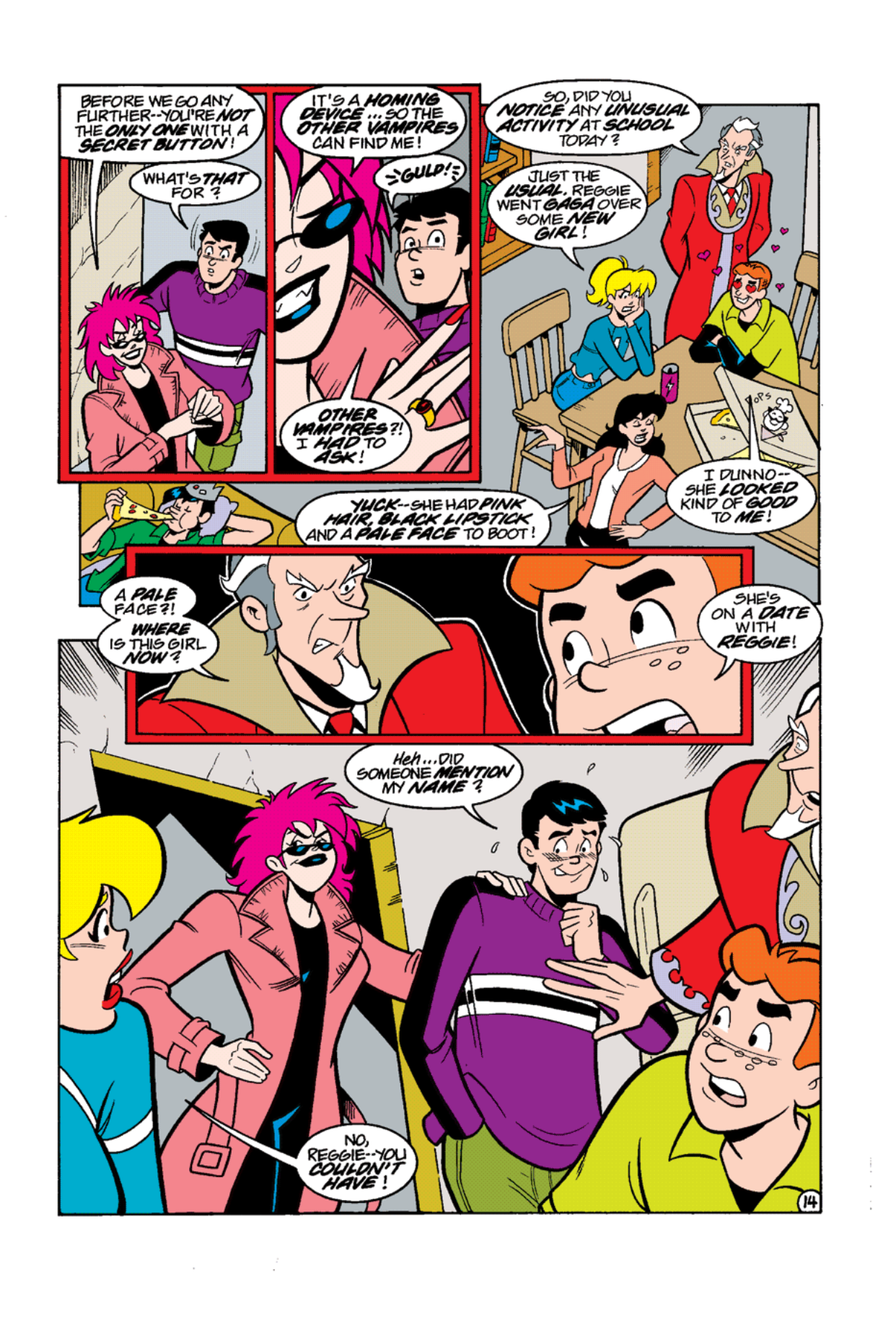 Read online Archie's Weird Mysteries comic -  Issue #12 - 16