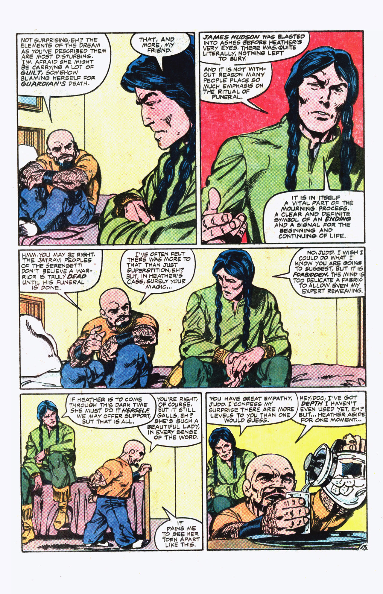 Read online Alpha Flight (1983) comic -  Issue #13 - 14